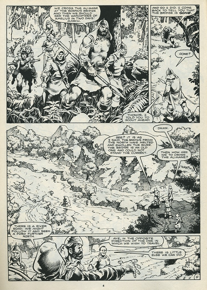 The Savage Sword Of Conan Issue #172 #173 - English 6
