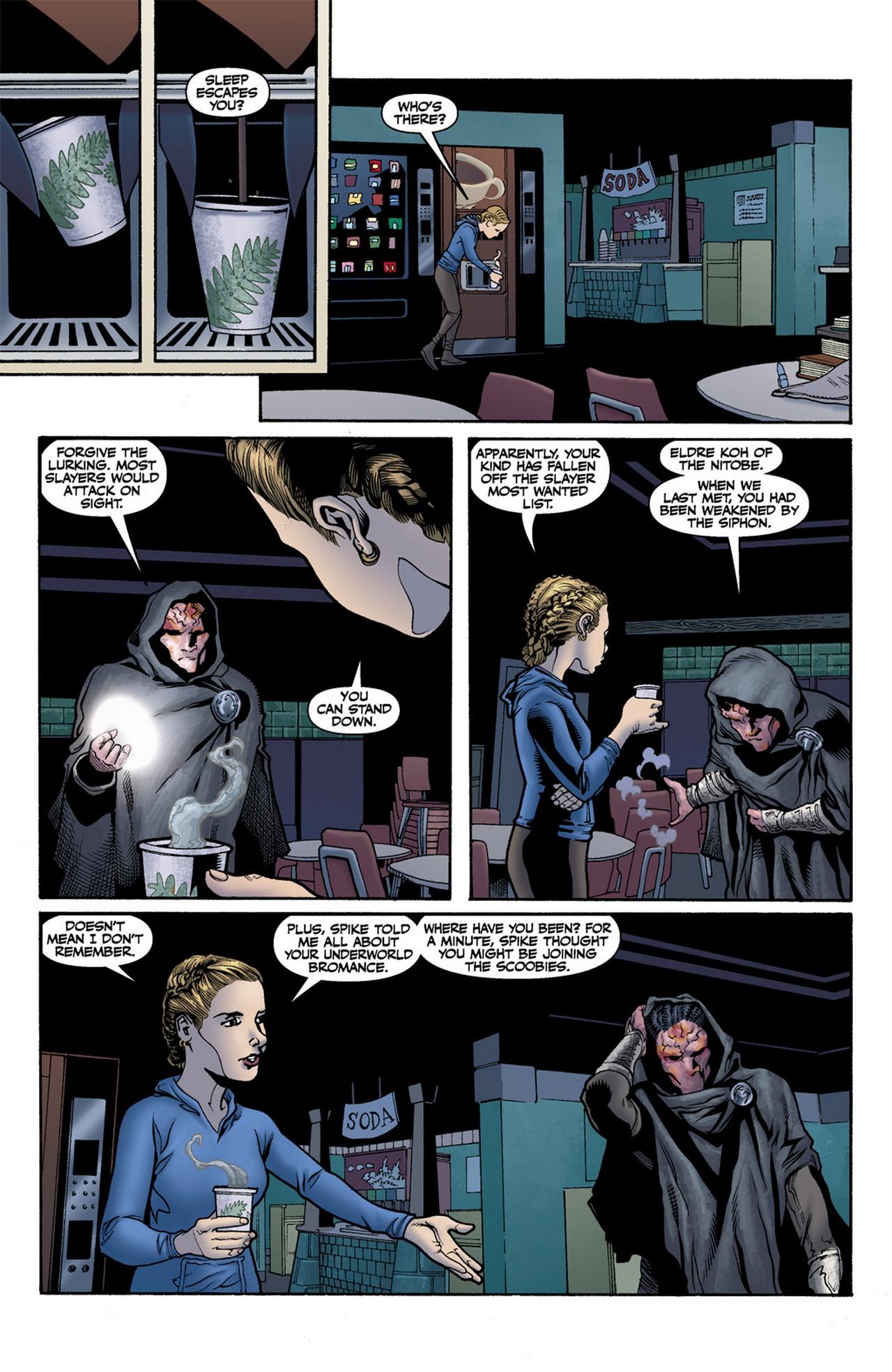 Read online Buffy the Vampire Slayer Season Nine comic -  Issue #11 - 12