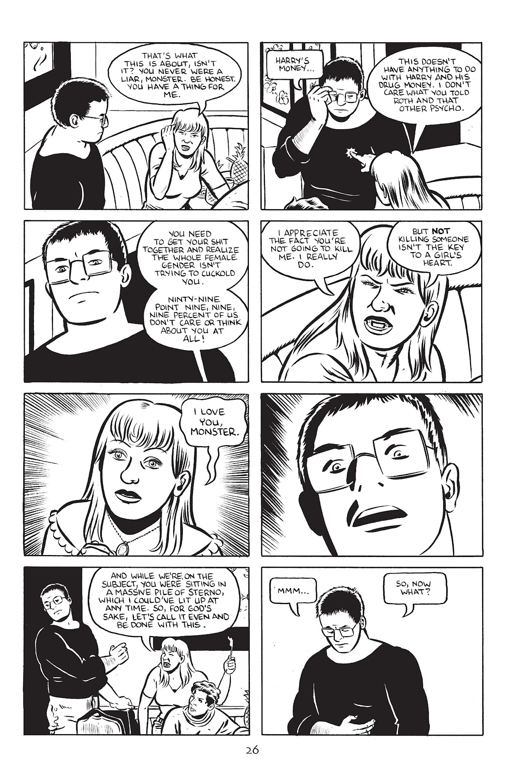 Stray Bullets Issue #24 #24 - English 28