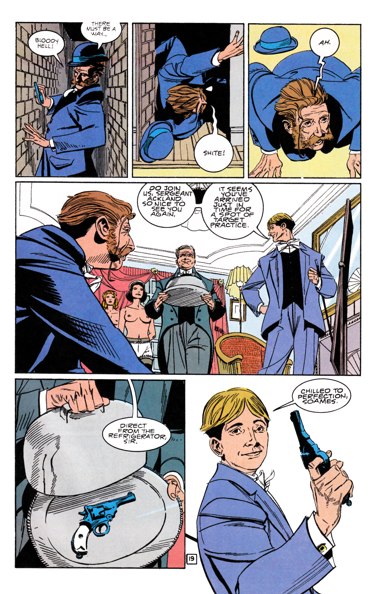 Read online Sebastian O comic -  Issue #1 - 23