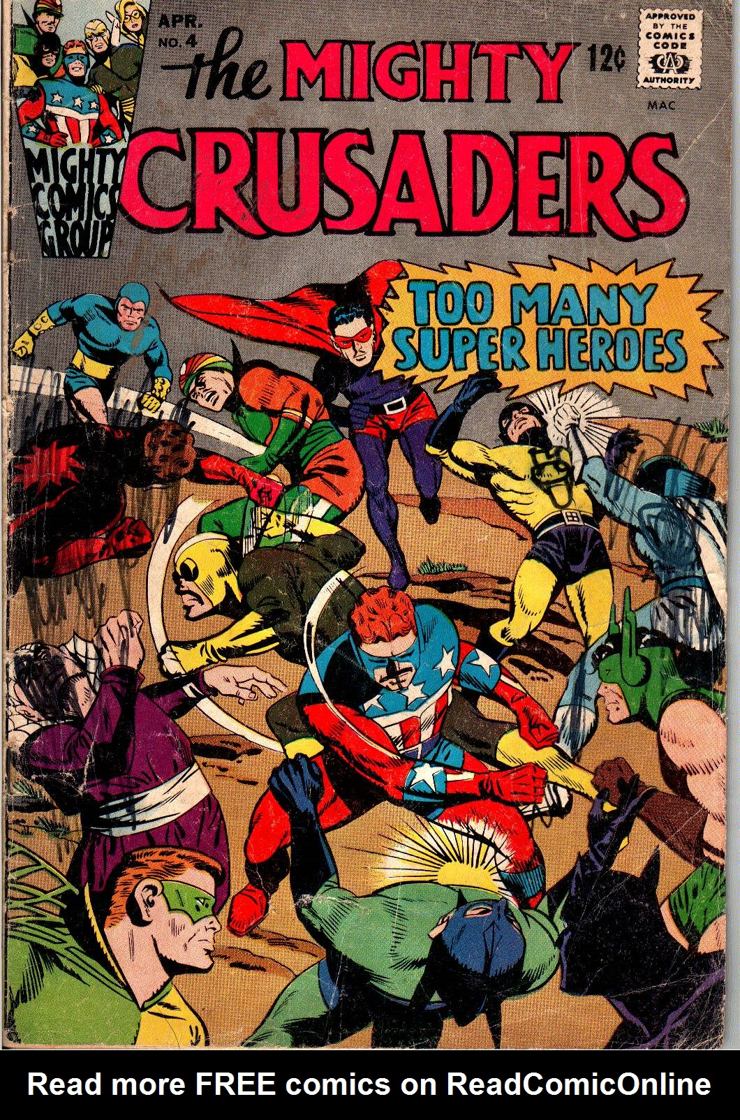 The Mighty Crusaders (1965) 4 Page 1