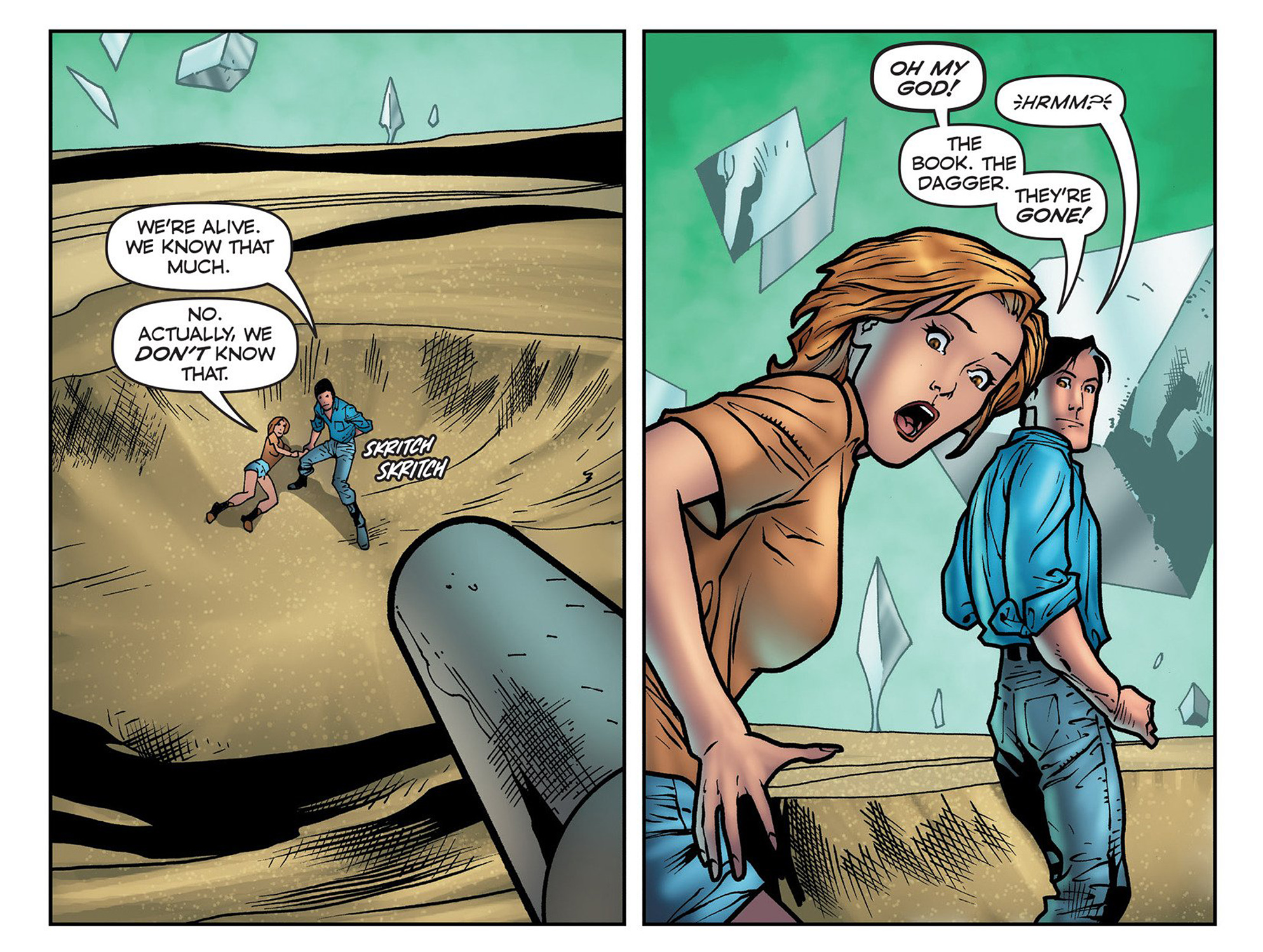 Read online Evil Dead 2: Cradle of the Damned comic -  Issue #3 - 8