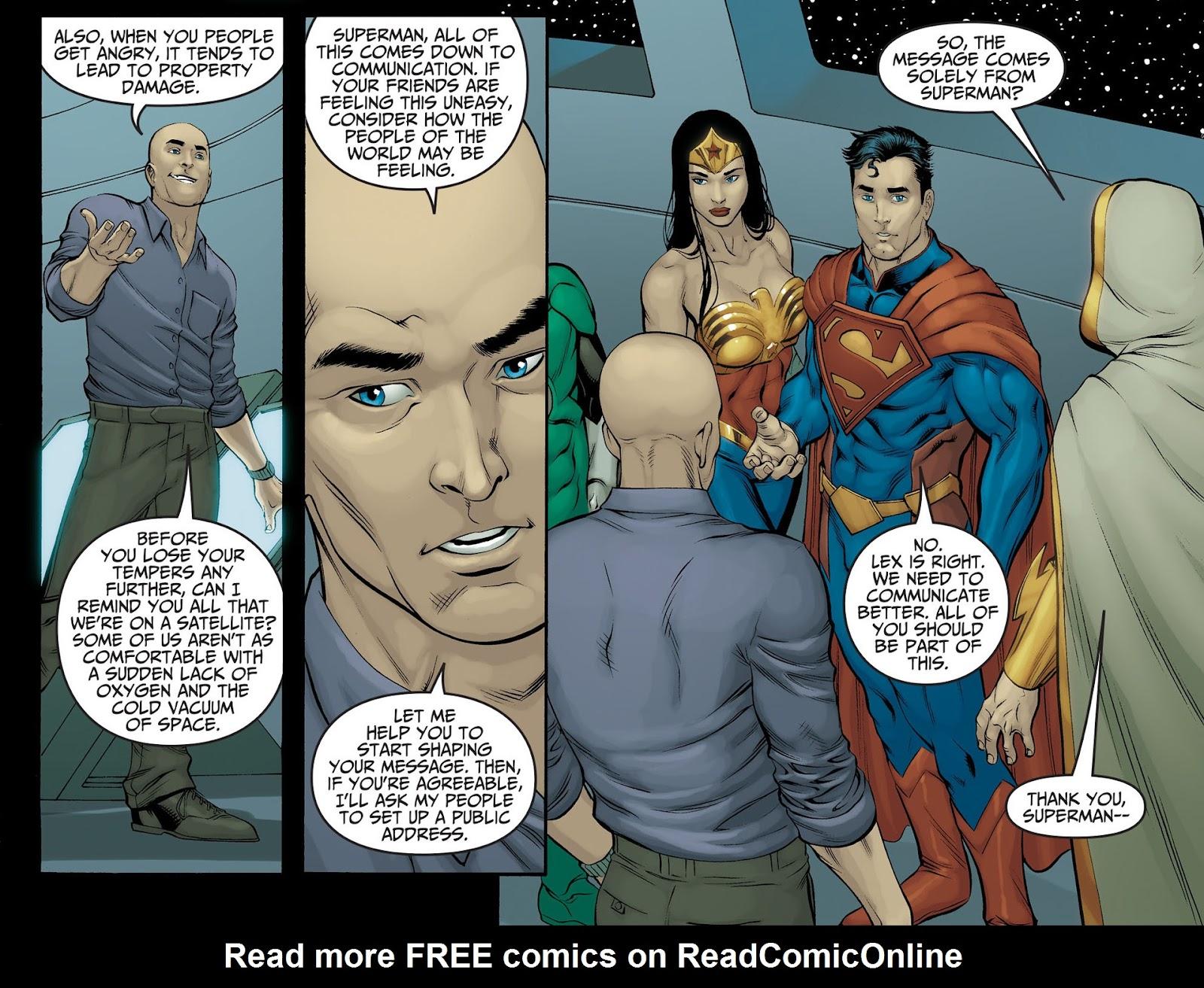 Injustice: Gods Among Us [I] Issue #22 #23 - English 8