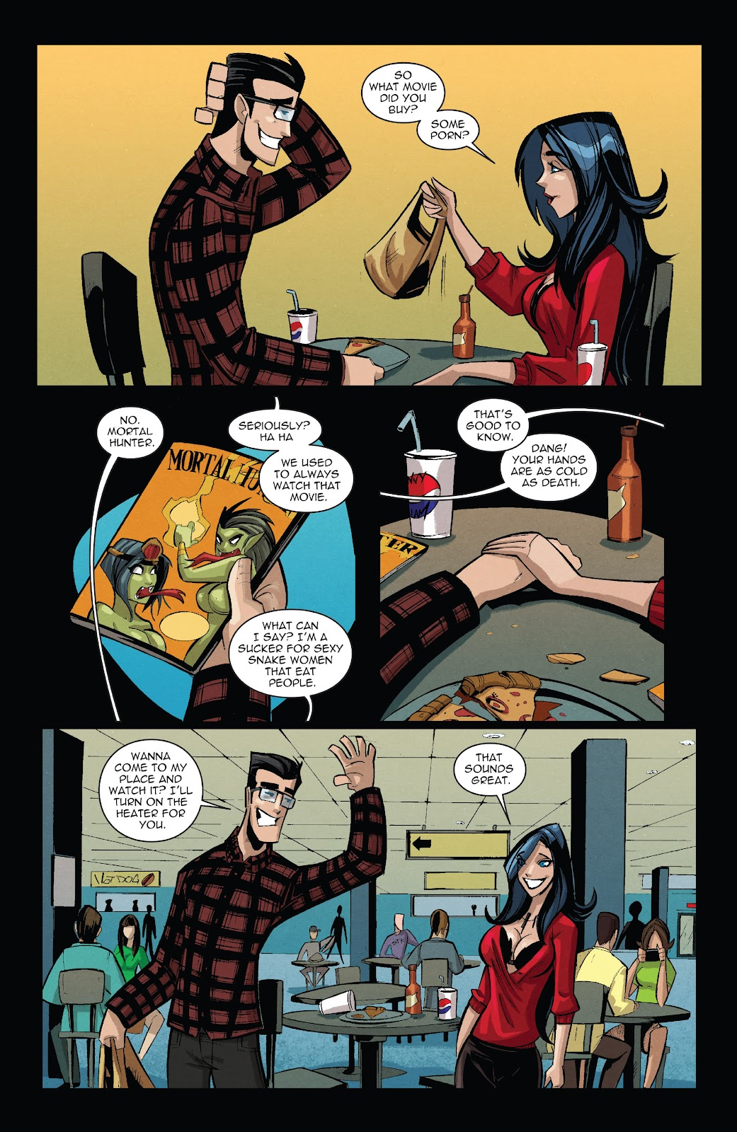 Zombie Tramp: VD Special Full Page 12