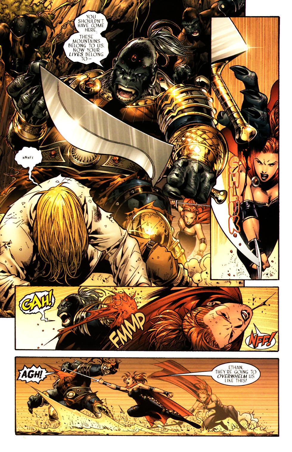 Read online Scion comic -  Issue #15 - 16