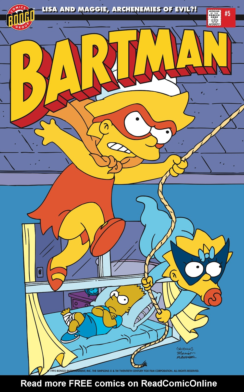 Read online Bartman comic -  Issue #5 - 1