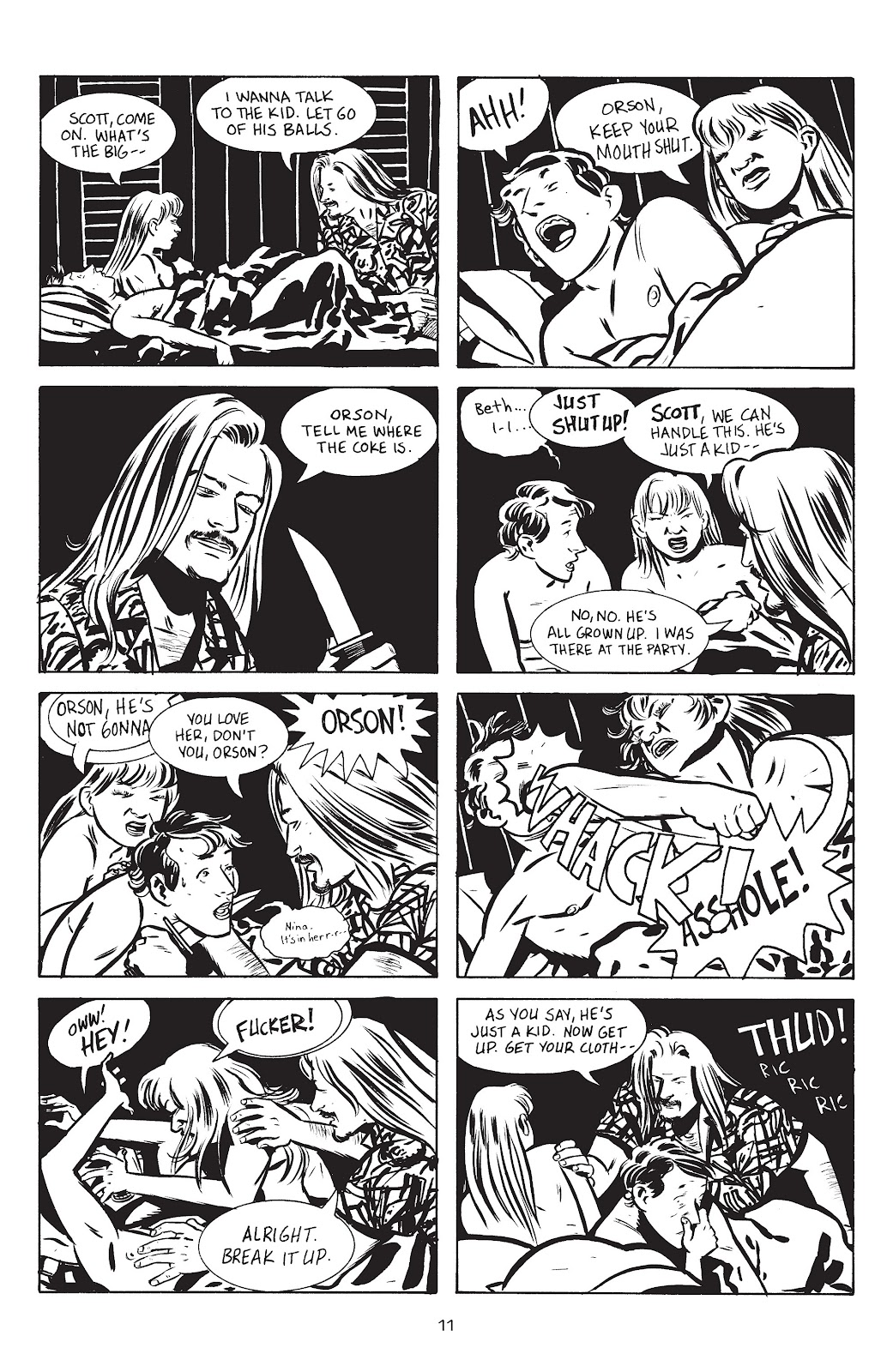 Stray Bullets Issue #14 #14 - English 13