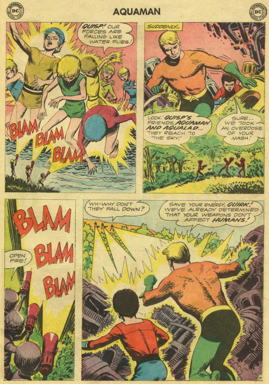 Aquaman (1962) Issue #10 #10 - English 31