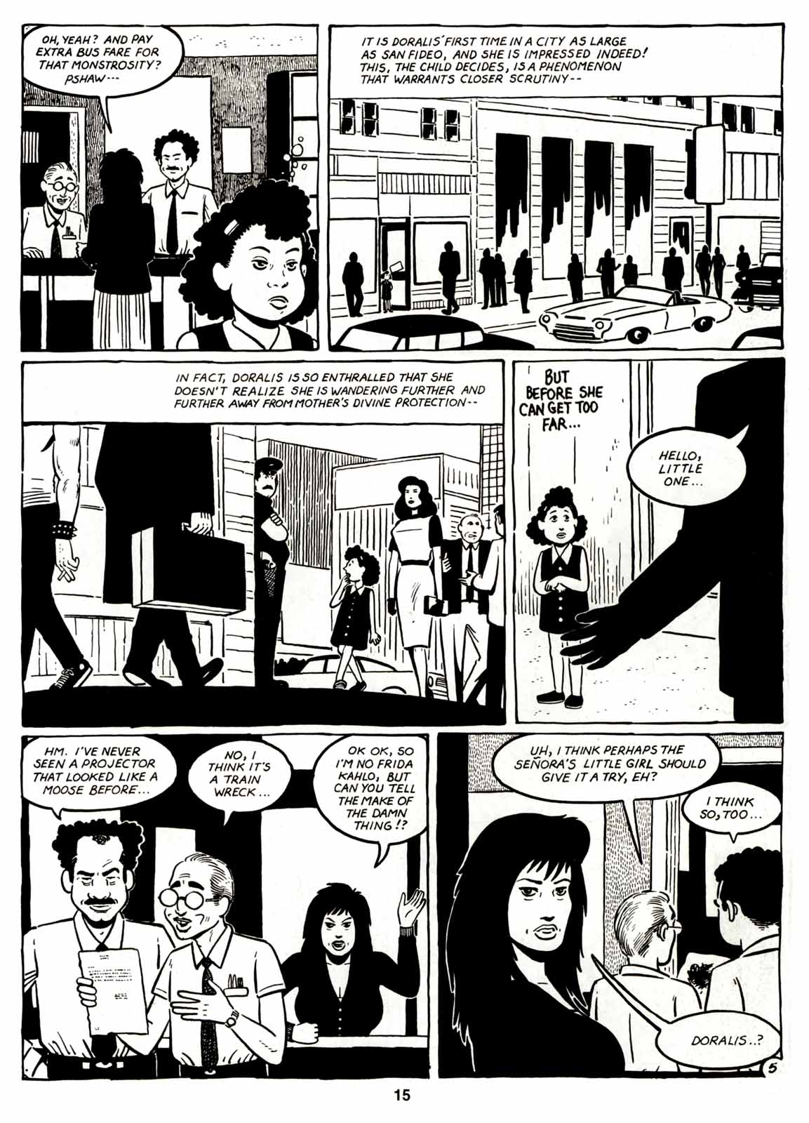 Love and Rockets (1982) Issue #7 #6 - English 17