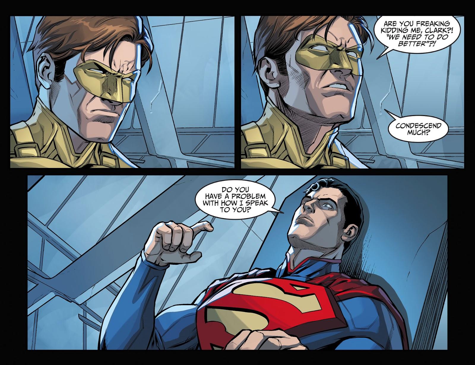 Injustice: Gods Among Us Year Four Issue #1 #2 - English 10