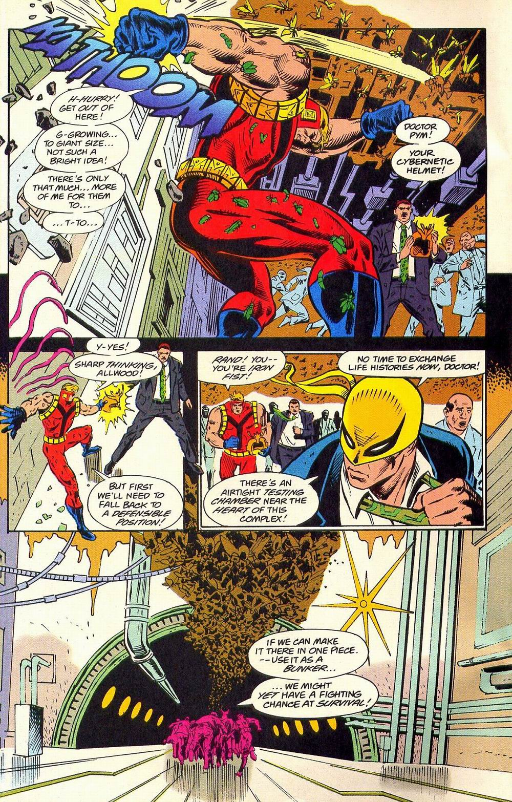 Read online Secret Defenders comic -  Issue #18 - 12