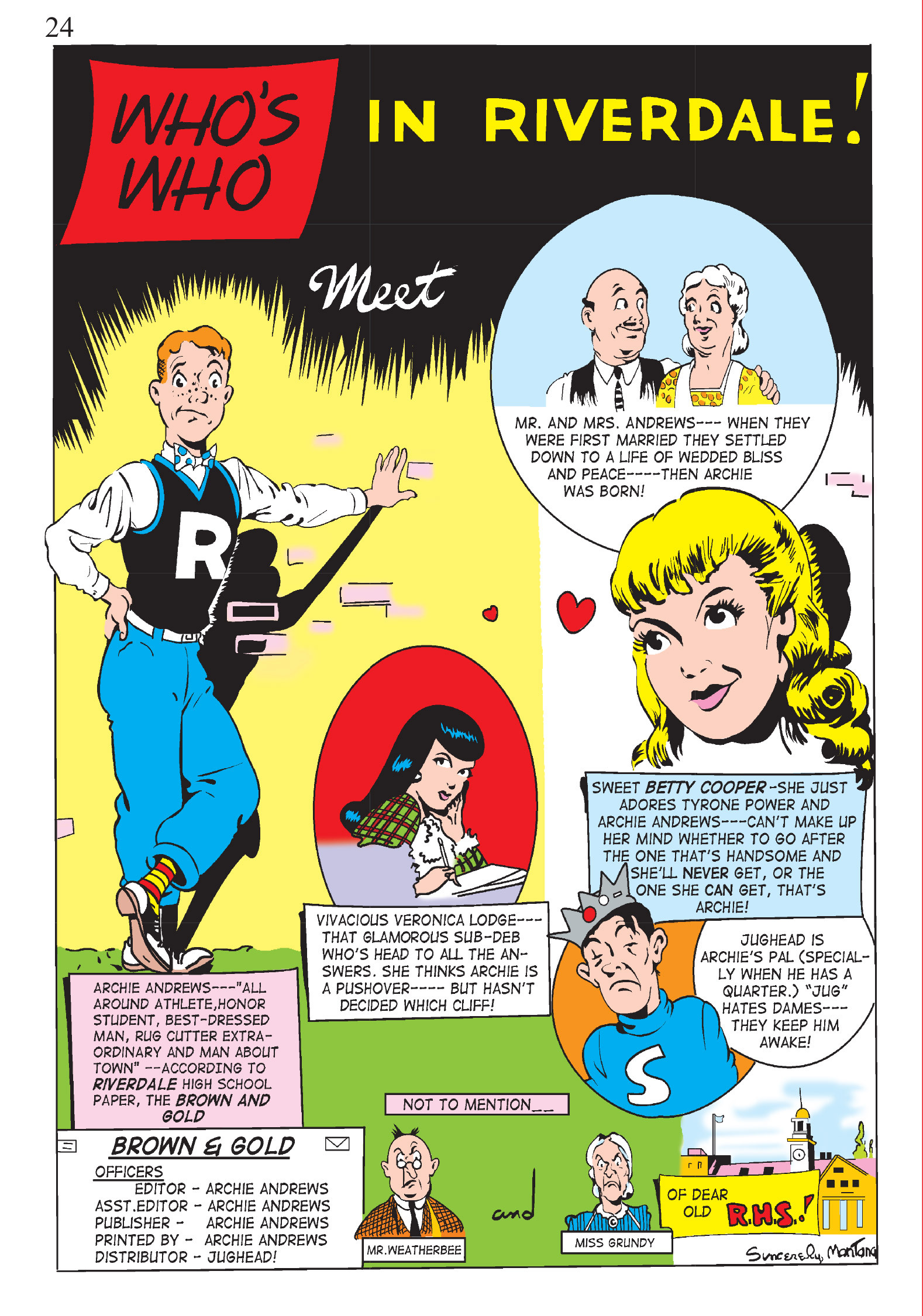 Read online The Best of Archie Comics comic -  Issue # TPB 1 (Part 1) - 23