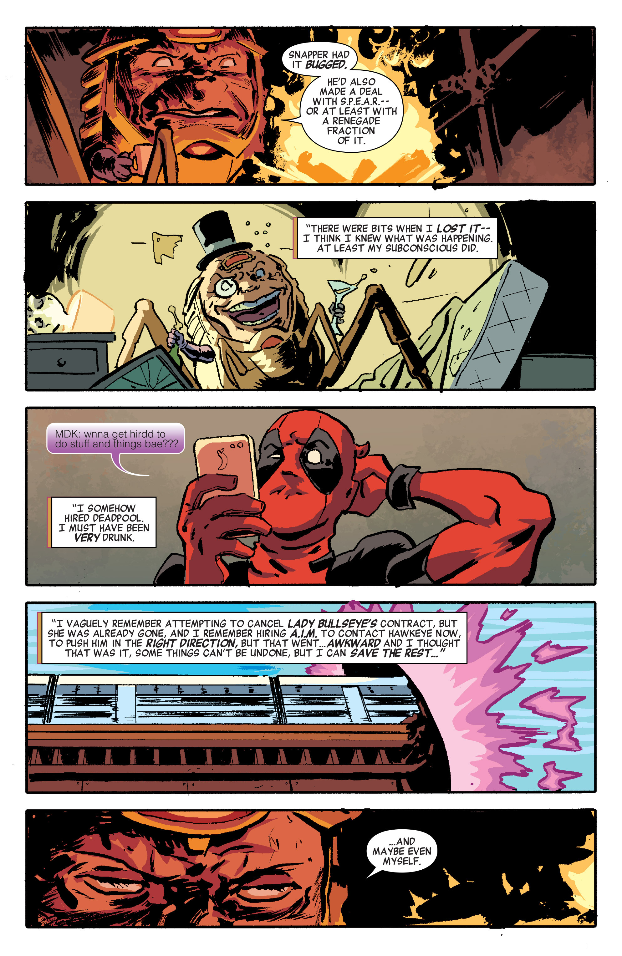 Read online Secret Avengers (2014) comic -  Issue #12 - 5