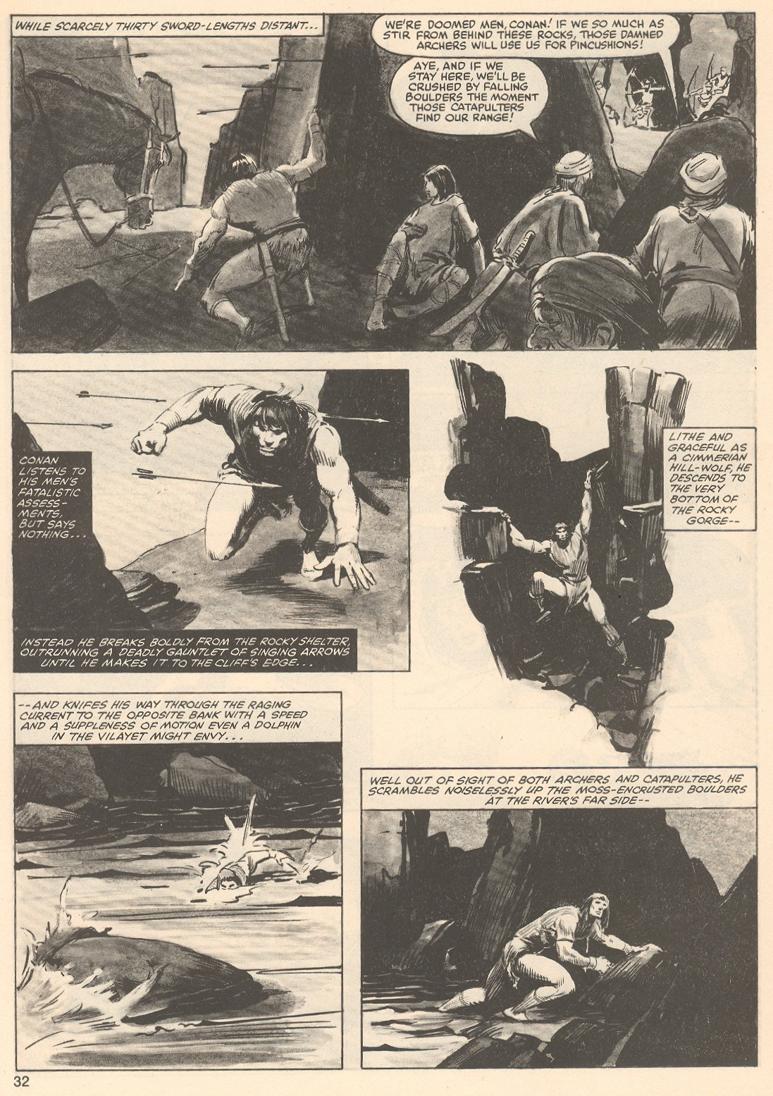 The Savage Sword Of Conan Issue #76 #77 - English 32