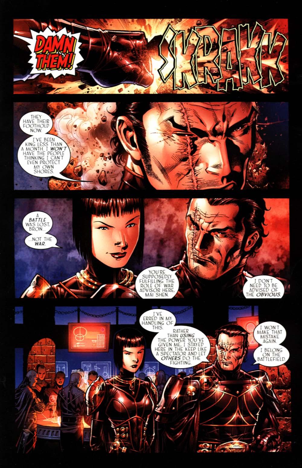 Read online Scion comic -  Issue #18 - 25
