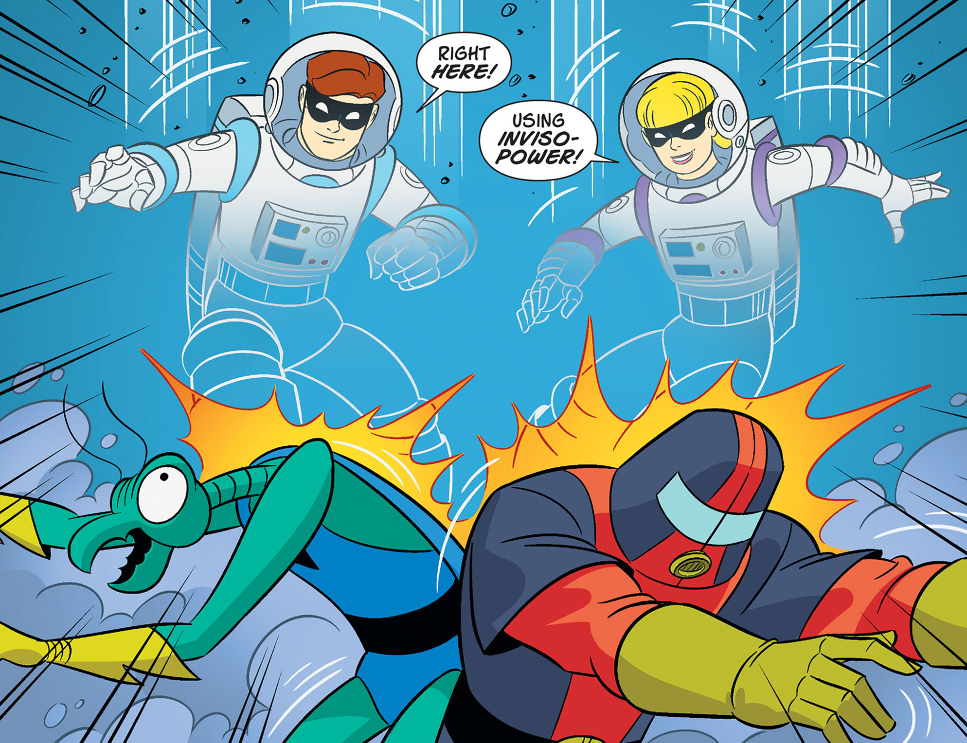 Read online Scooby-Doo! Team-Up comic -  Issue #40 - 17