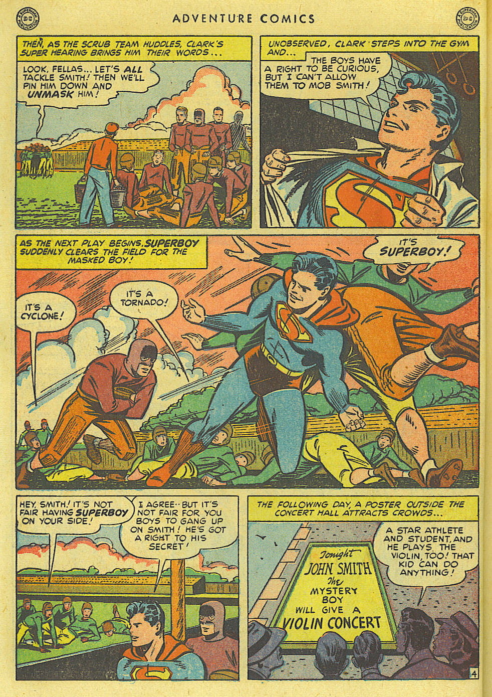 Read online Adventure Comics (1938) comic -  Issue #135 - 6