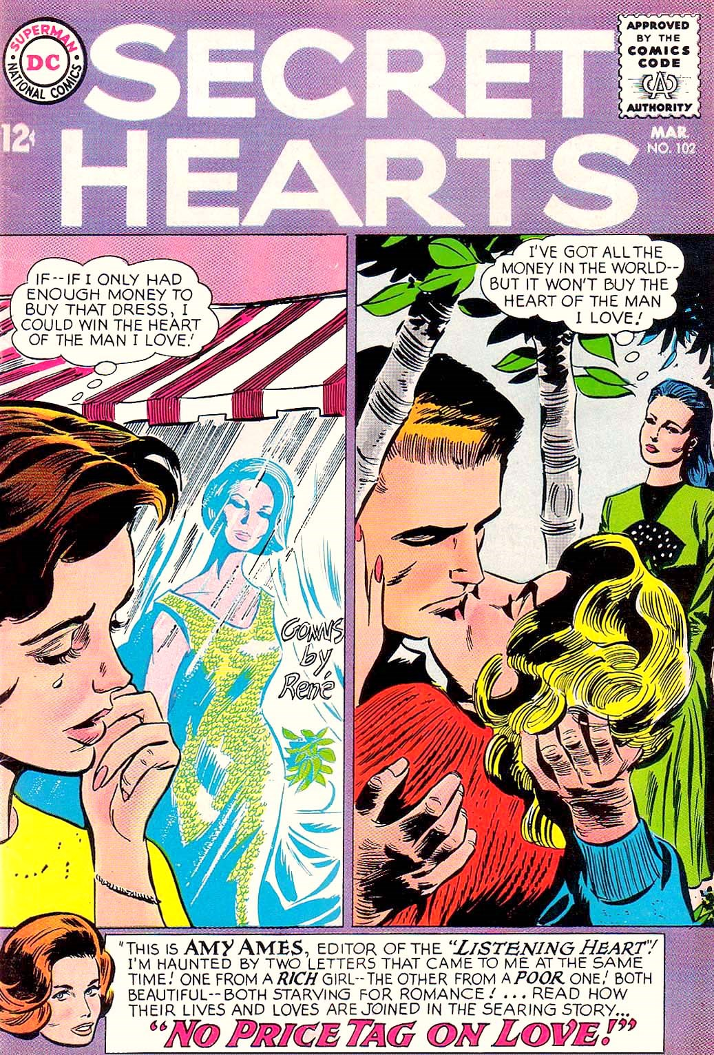 Read online Secret Hearts comic -  Issue #102 - 1
