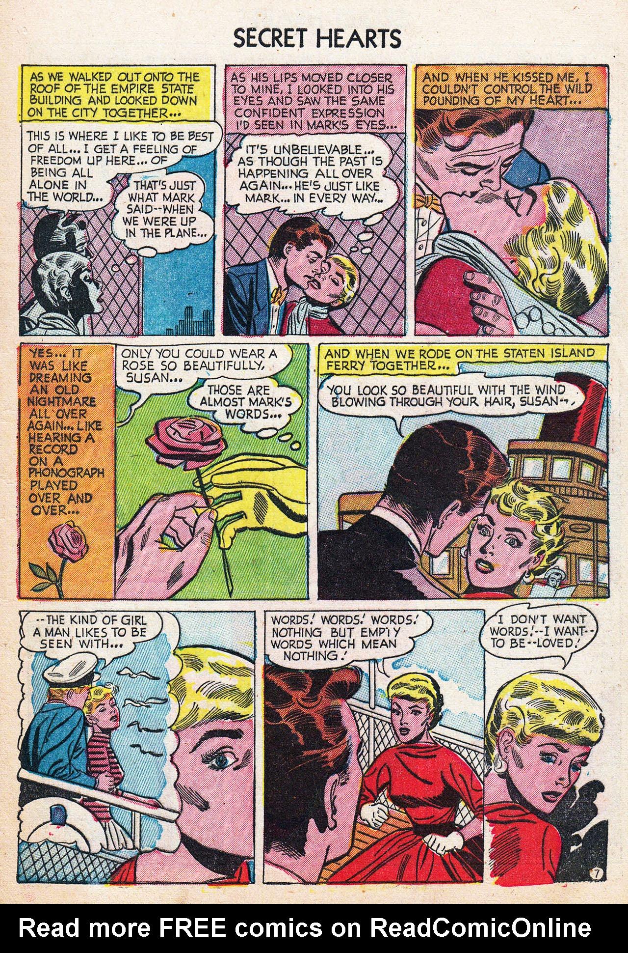 Read online Secret Hearts comic -  Issue #24 - 9