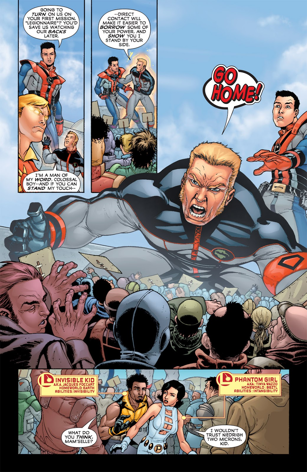 Legion of Super-Heroes (2010) Issue #2 #3 - English 23