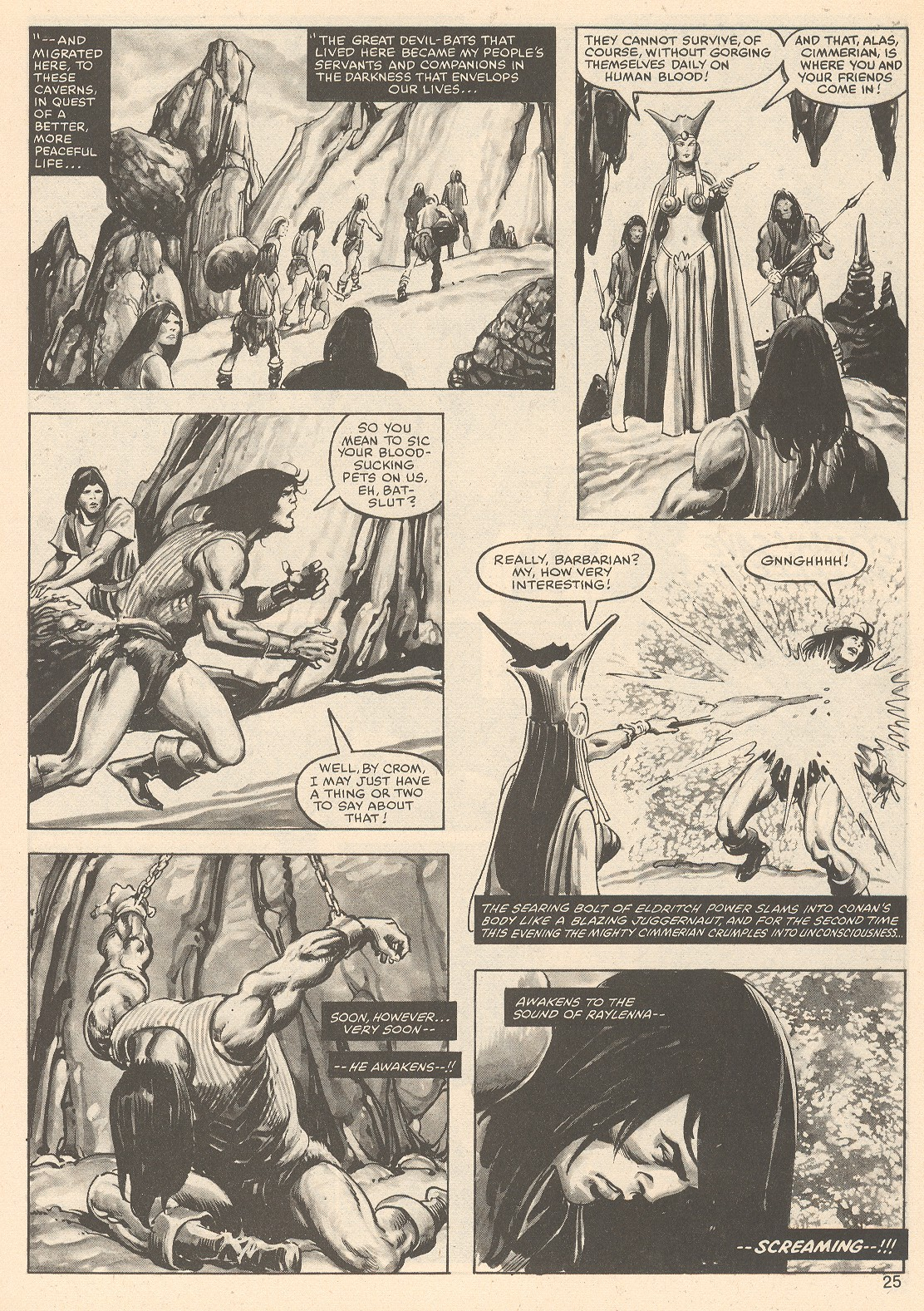 The Savage Sword Of Conan Issue #76 #77 - English 25