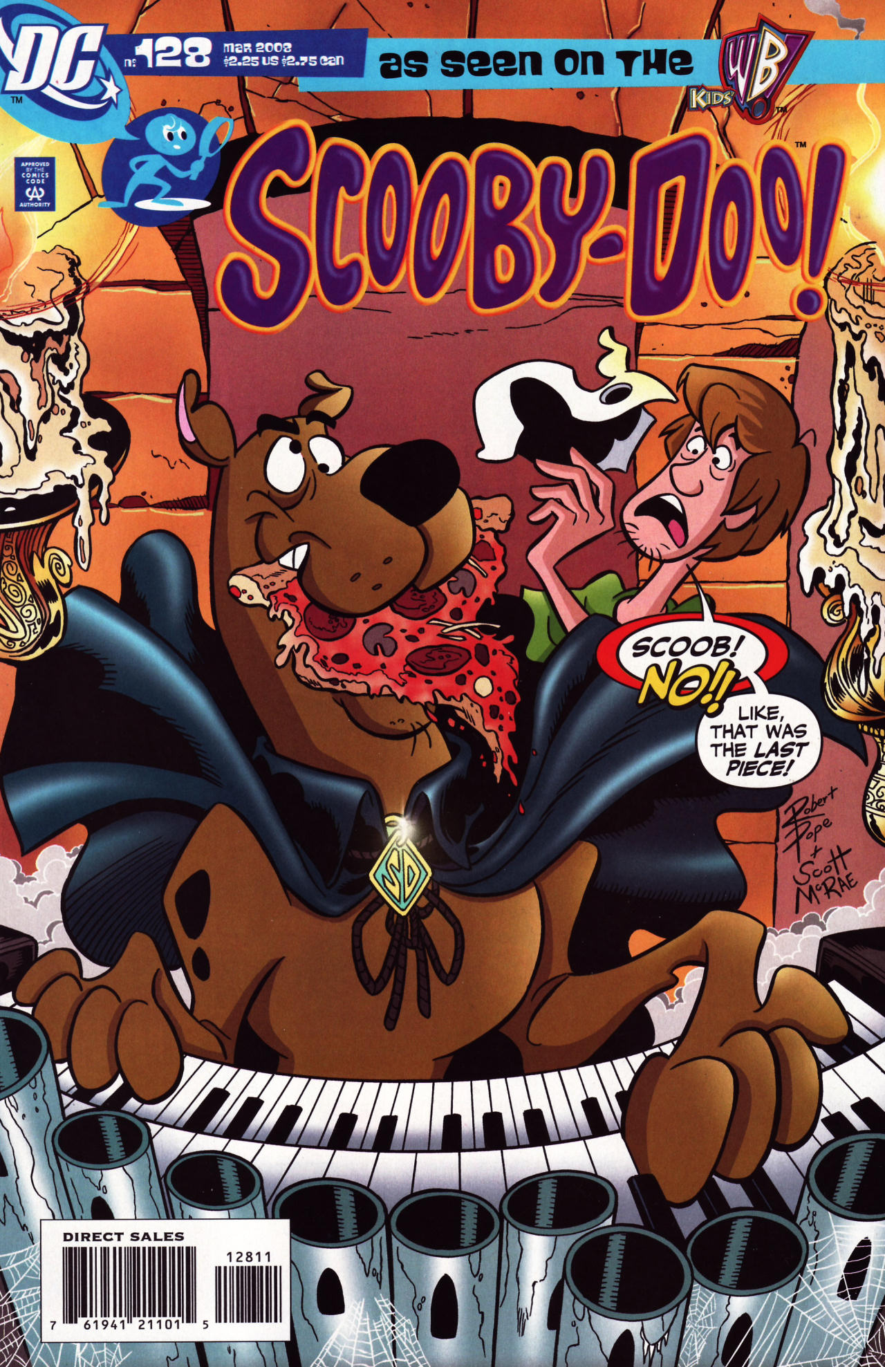 Read online Scooby-Doo (1997) comic -  Issue #128 - 1