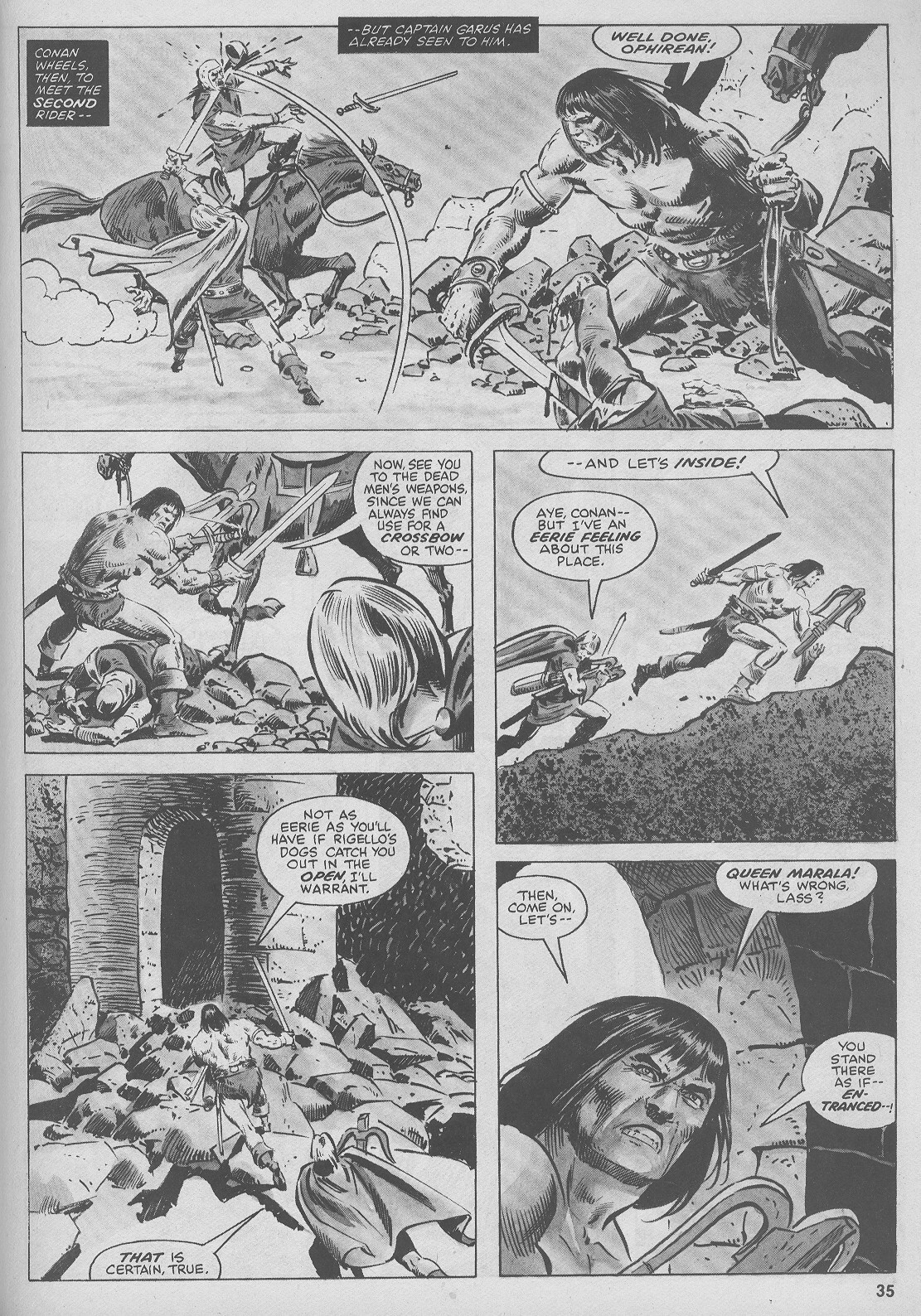 The Savage Sword Of Conan Issue #44 #45 - English 35