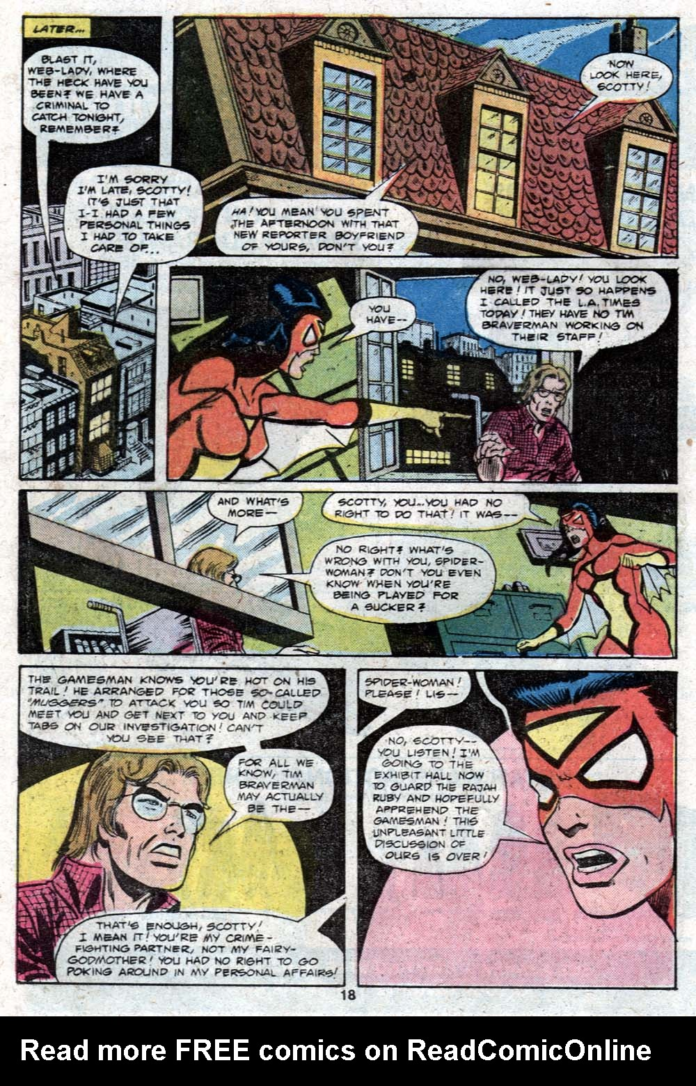 Spider-Woman (1978) Issue #23 #23 - English 12