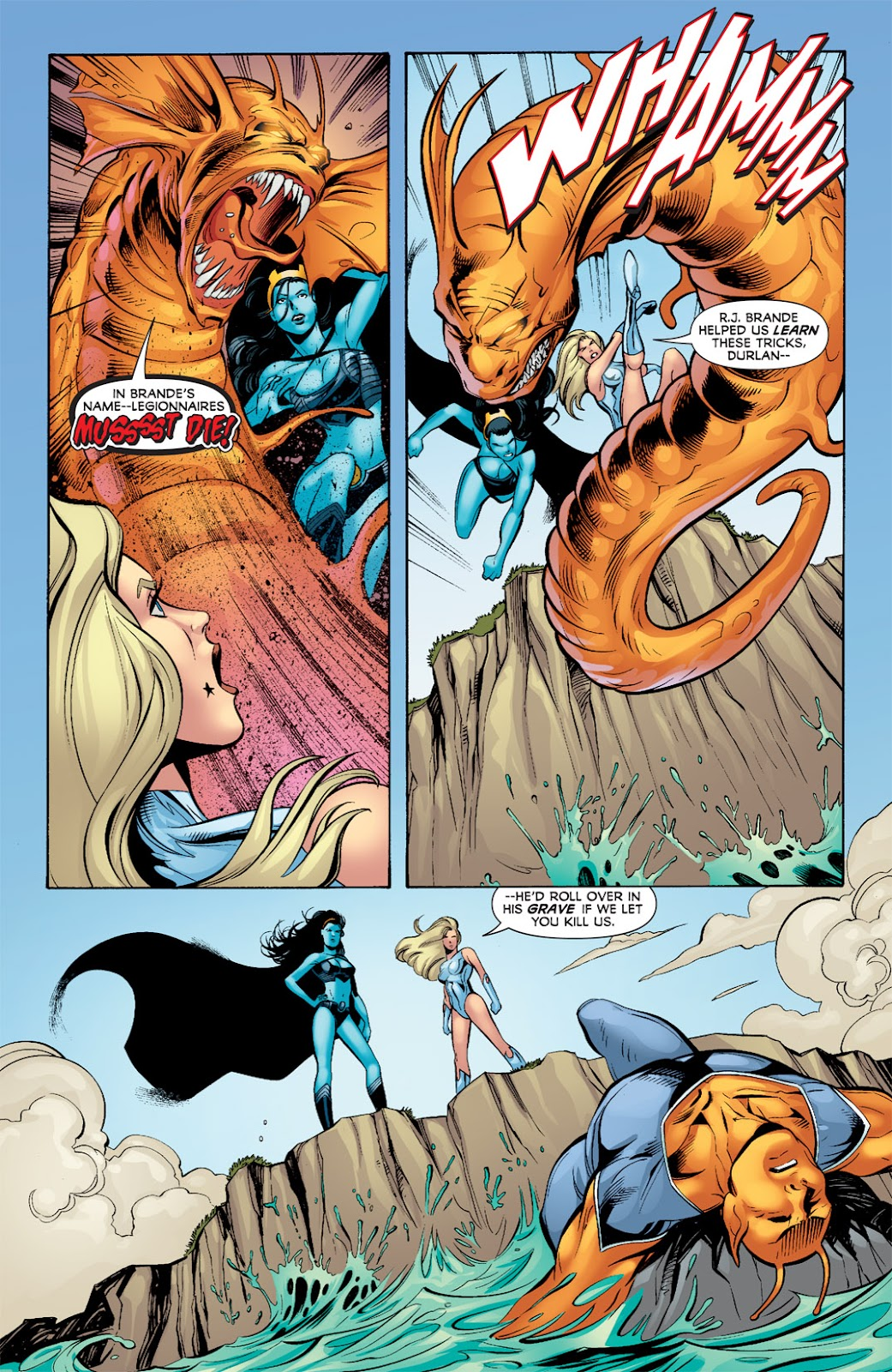 Legion of Super-Heroes (2010) Issue #8 #9 - English 23