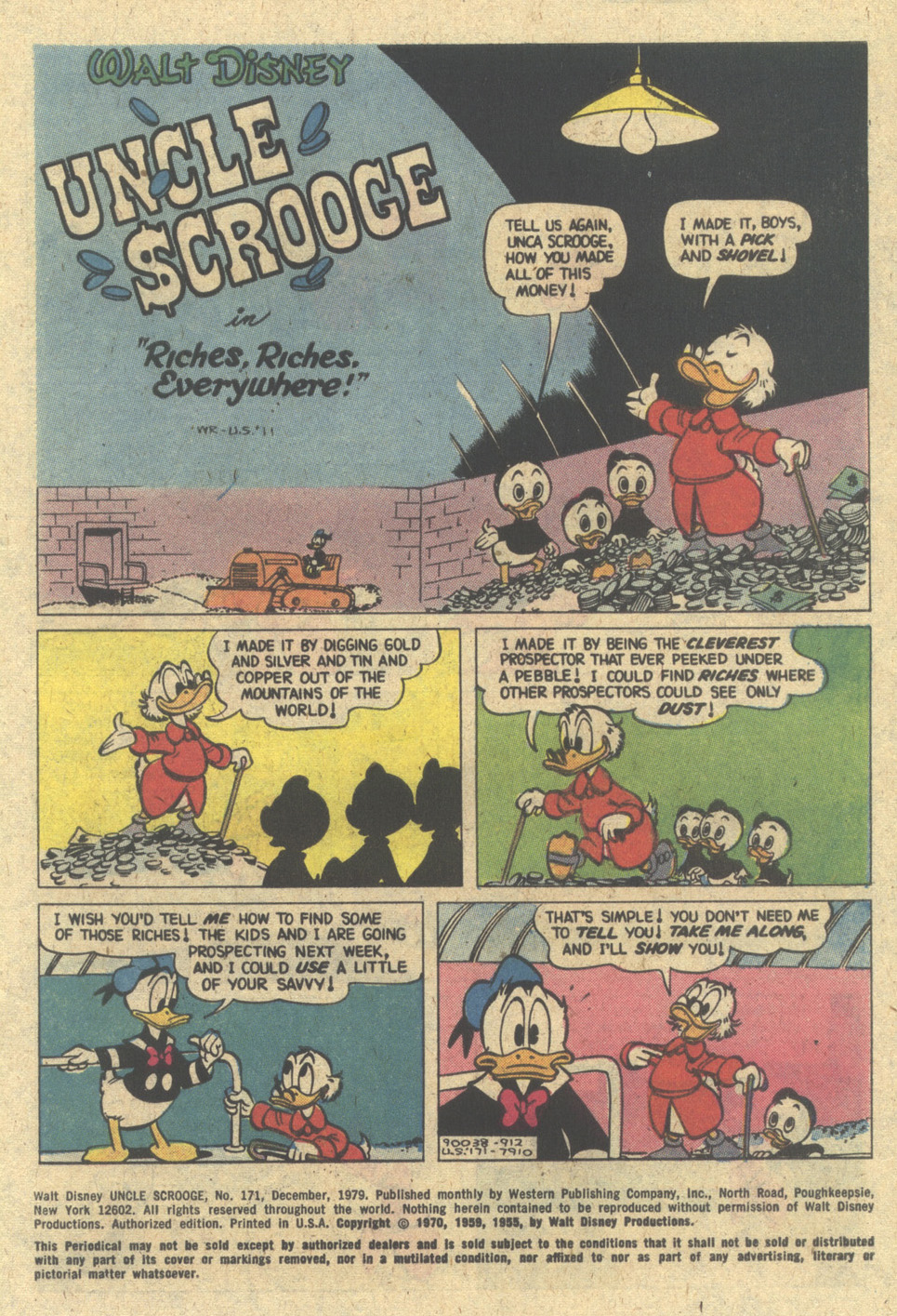 Uncle Scrooge (1953) Issue #171 #171 - English 3