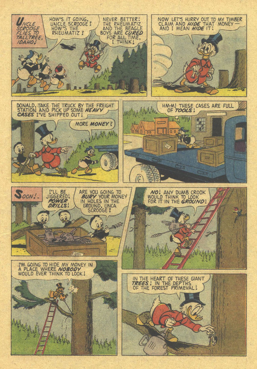 Uncle Scrooge (1953) Issue #28 #28 - English 13
