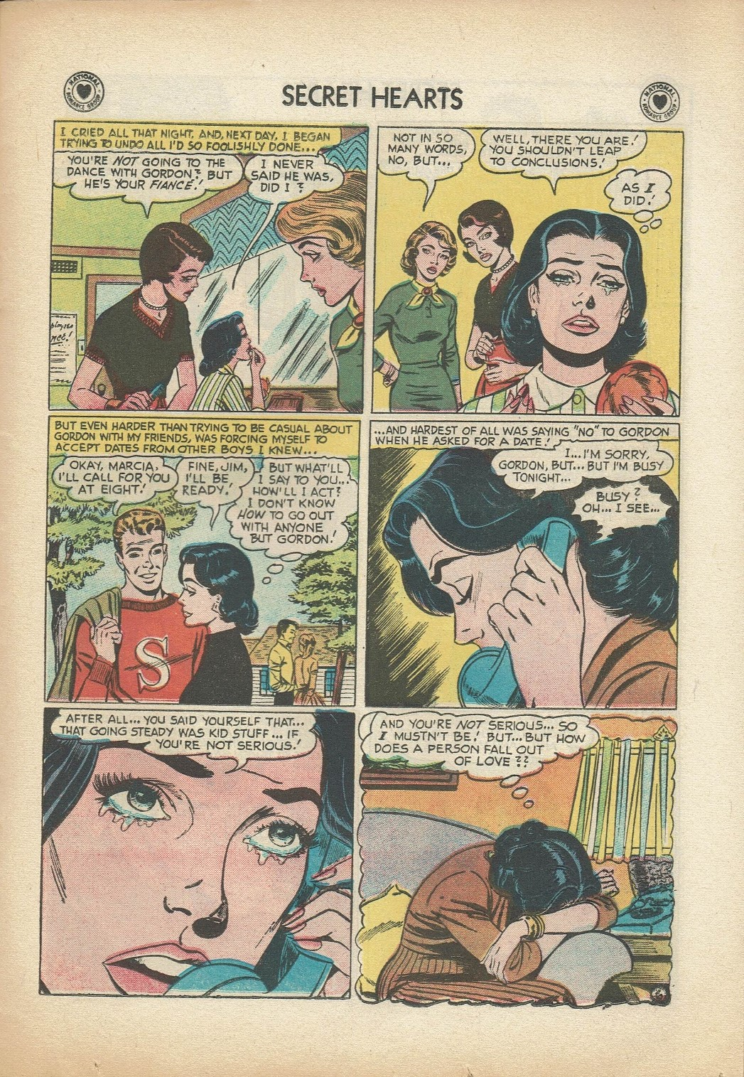 Read online Secret Hearts comic -  Issue #47 - 23