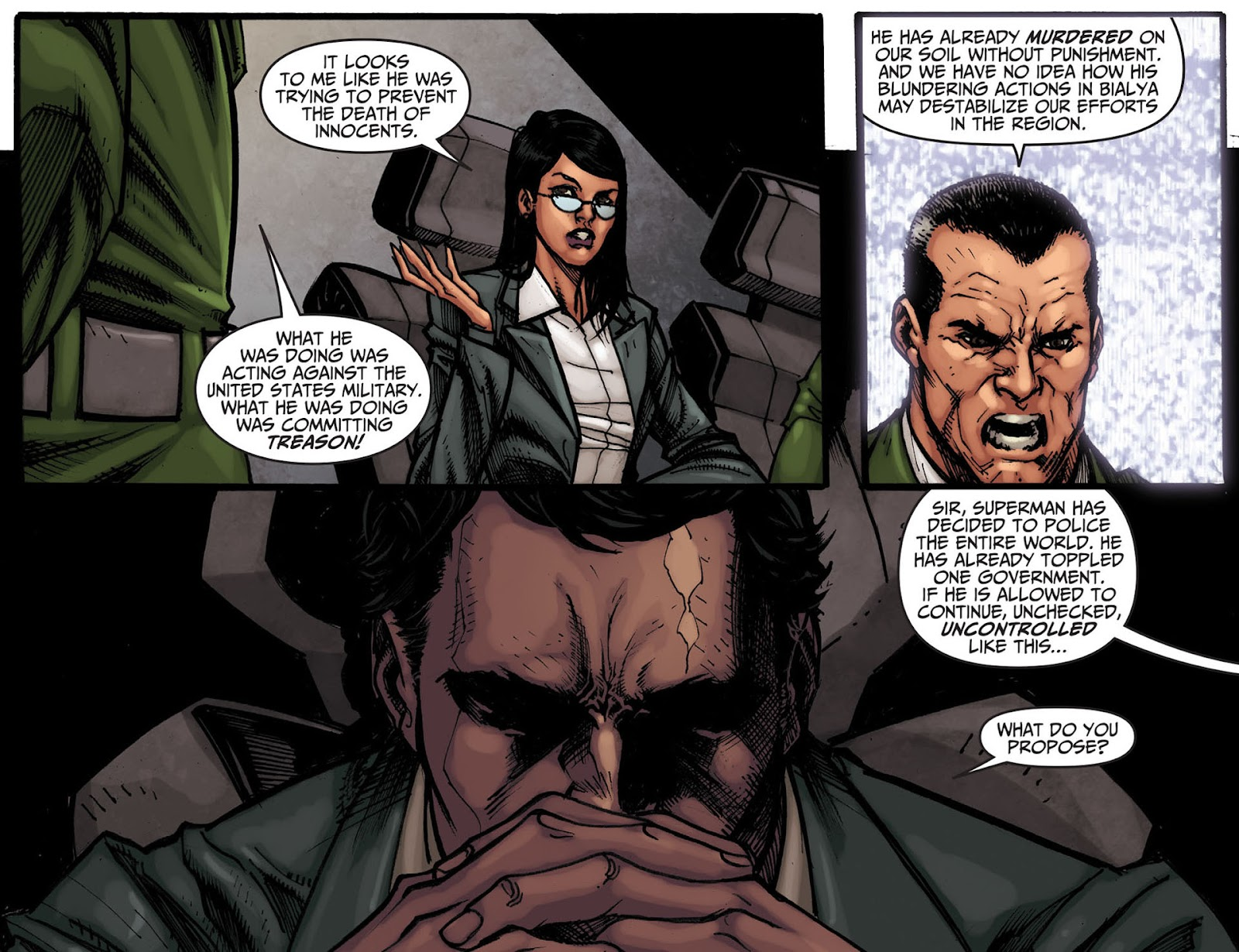 Injustice: Gods Among Us [I] Issue #7 #8 - English 10