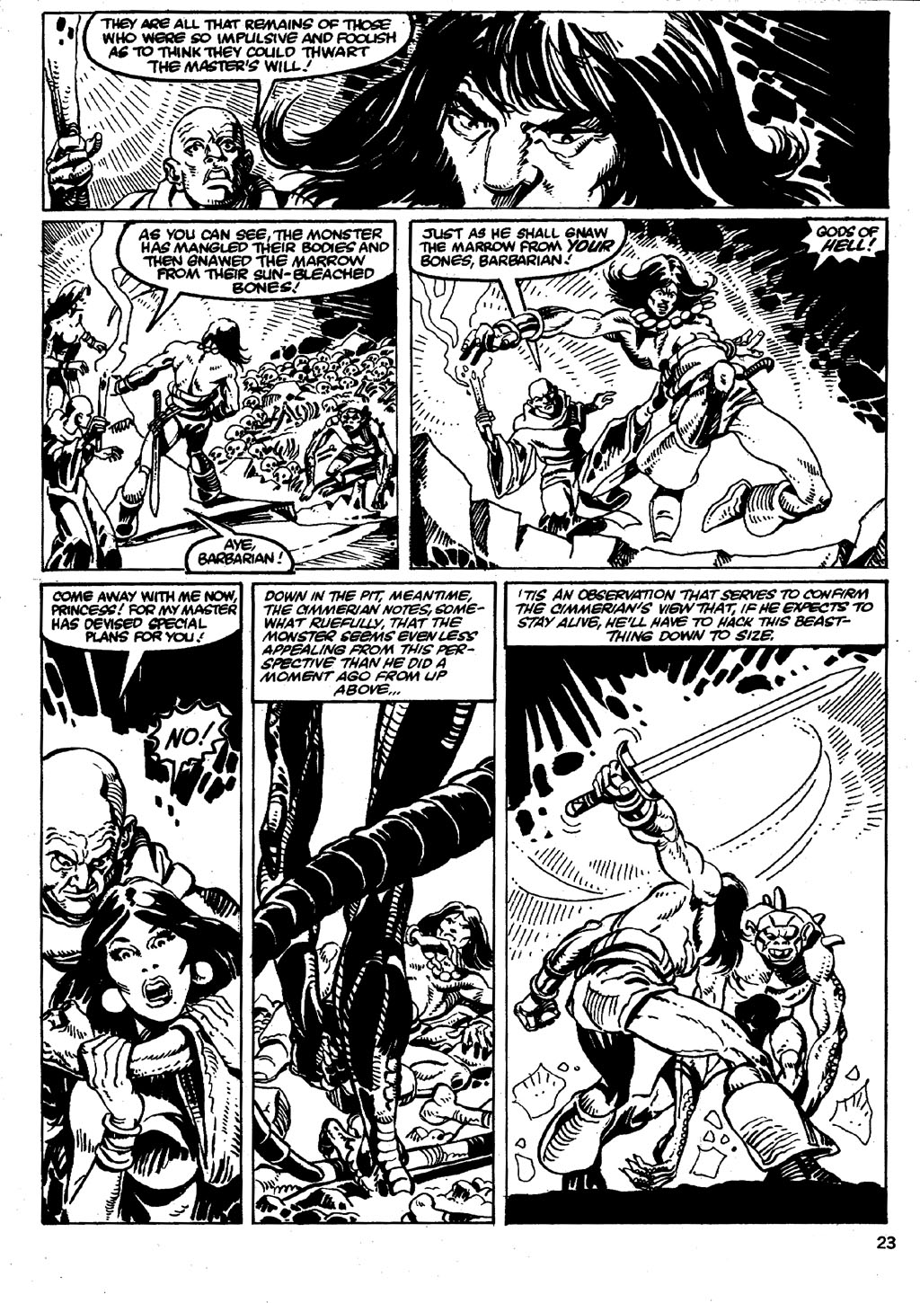 The Savage Sword Of Conan Issue #86 #87 - English 23