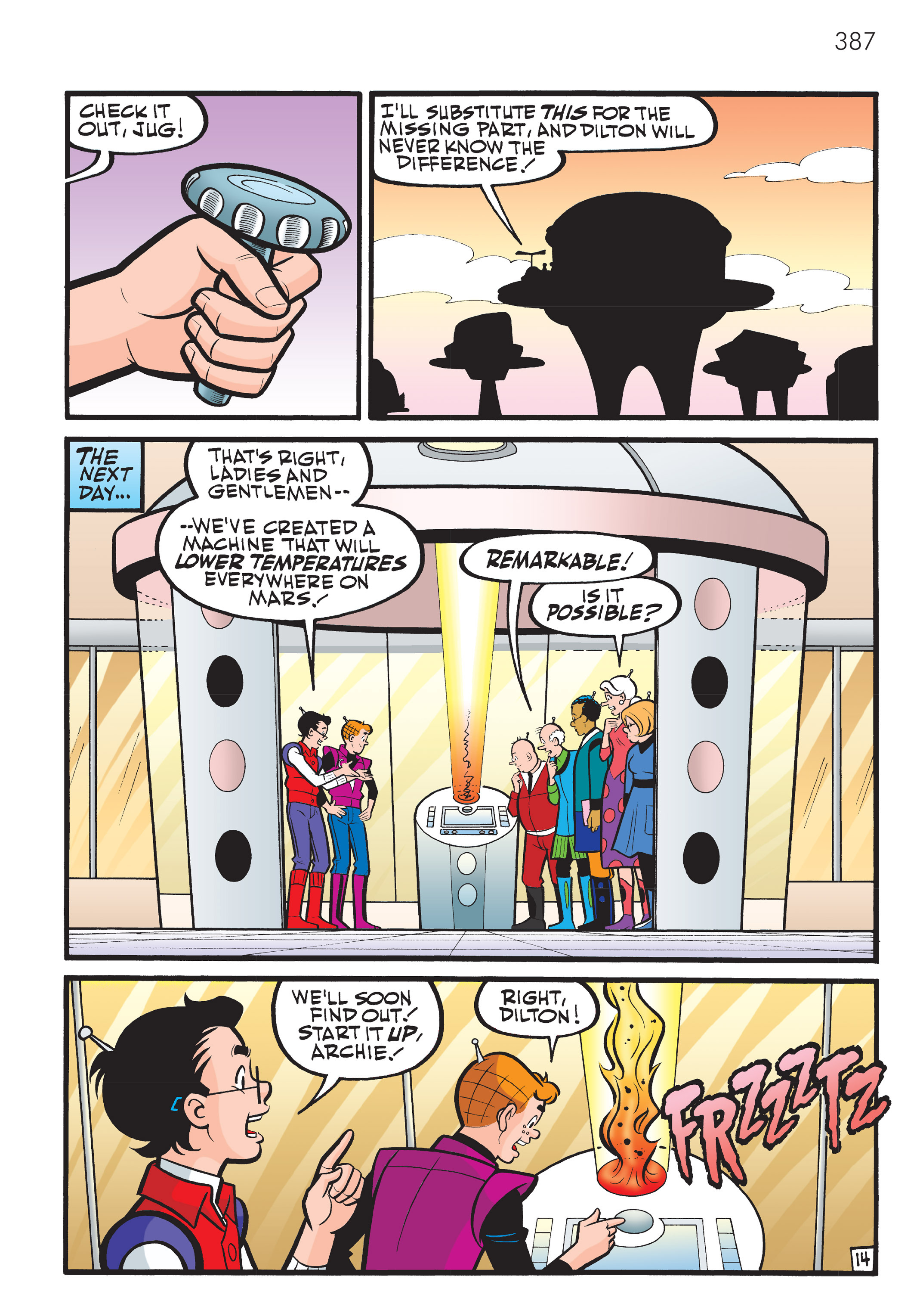 Read online The Best of Archie Comics comic -  Issue # TPB 4 (Part 2) - 177