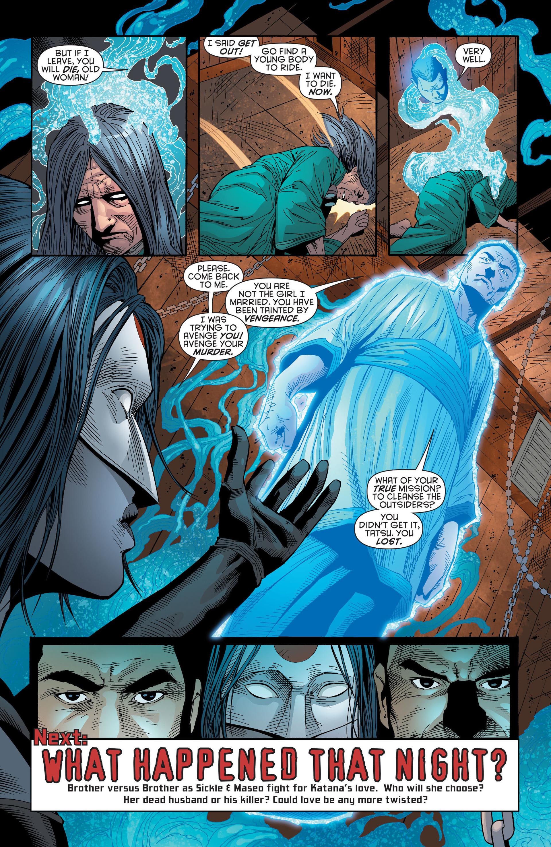 Read online Katana comic -  Issue #6 - 19