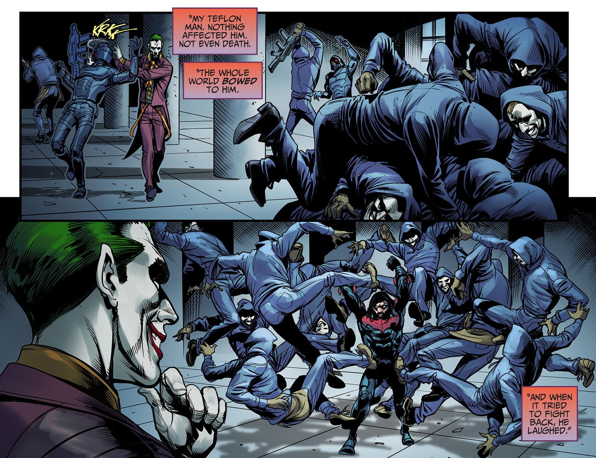 Read online Injustice: Ground Zero comic -  Issue #6 - 13