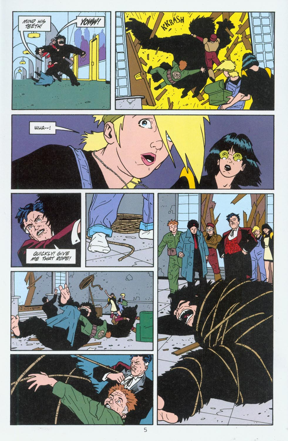 Read online Terminal City comic -  Issue #6 - 6