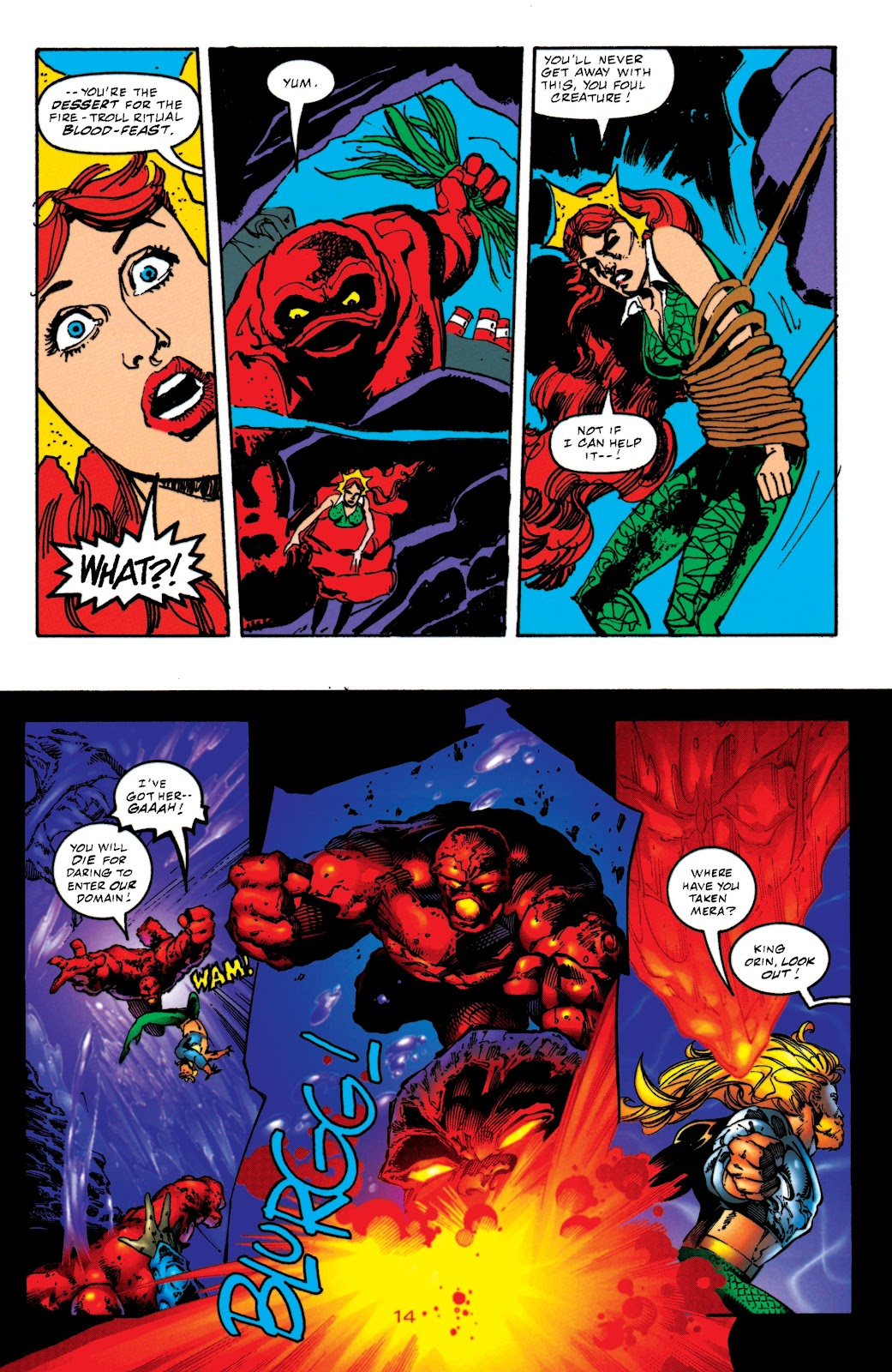 Aquaman (1994) Issue #52 #58 - English 14