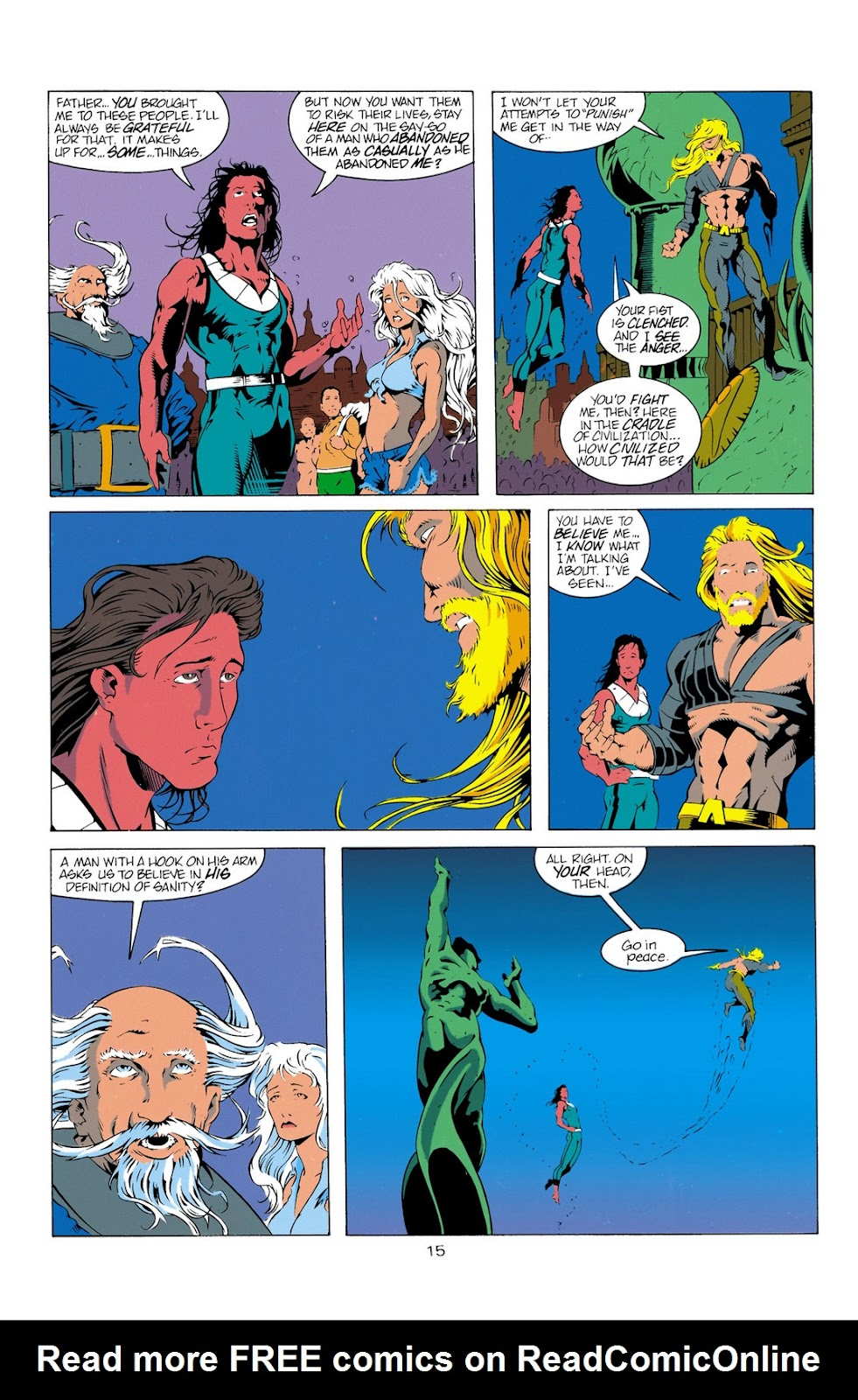 Aquaman (1994) Issue #11 #17 - English 15