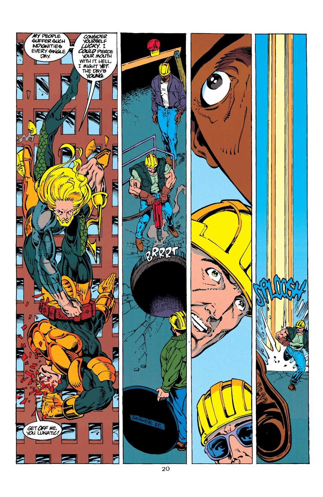 Aquaman (1994) Issue #9 #15 - English 20