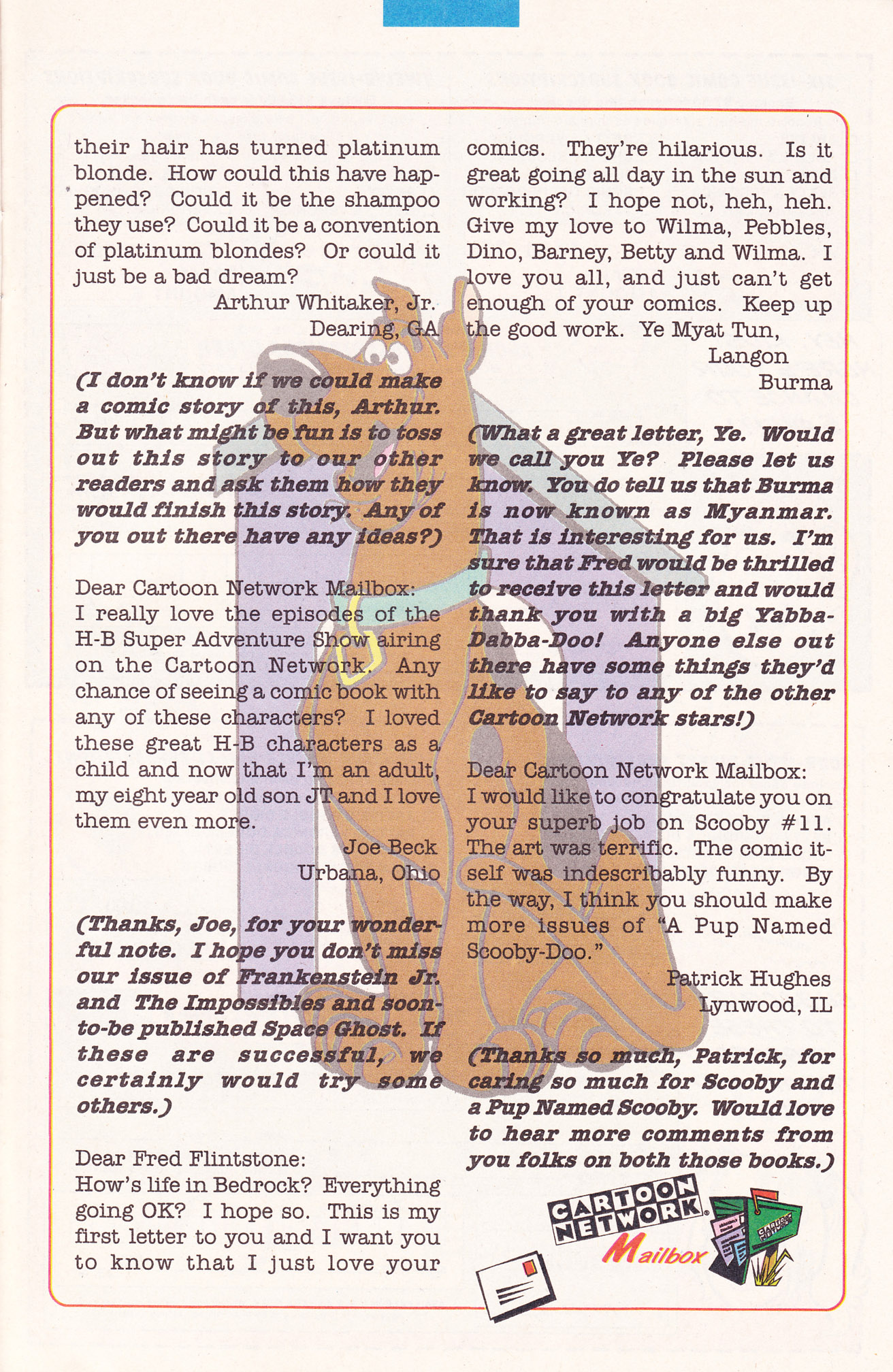 Read online Scooby-Doo (1995) comic -  Issue #19 - 23