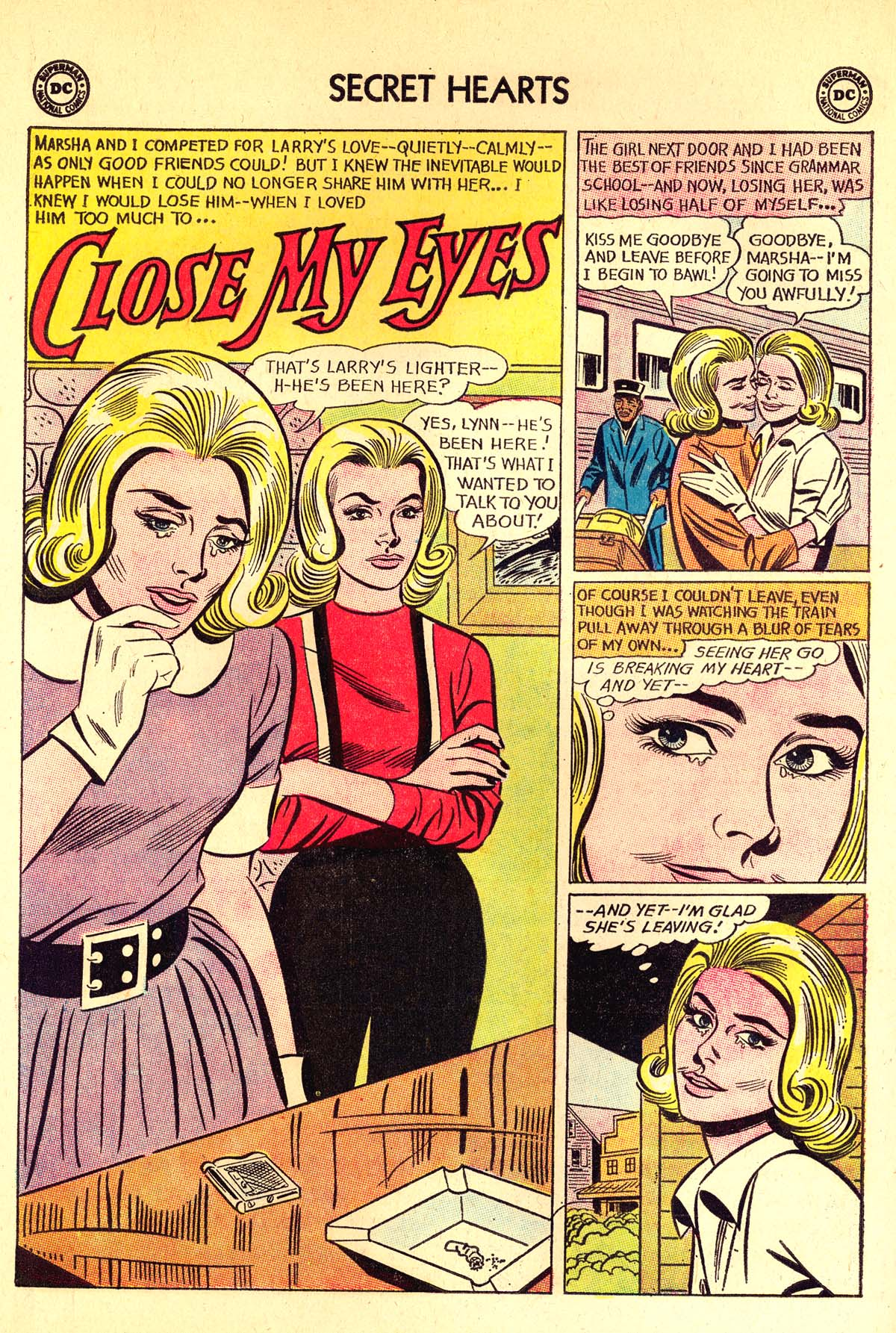 Read online Secret Hearts comic -  Issue #89 - 20