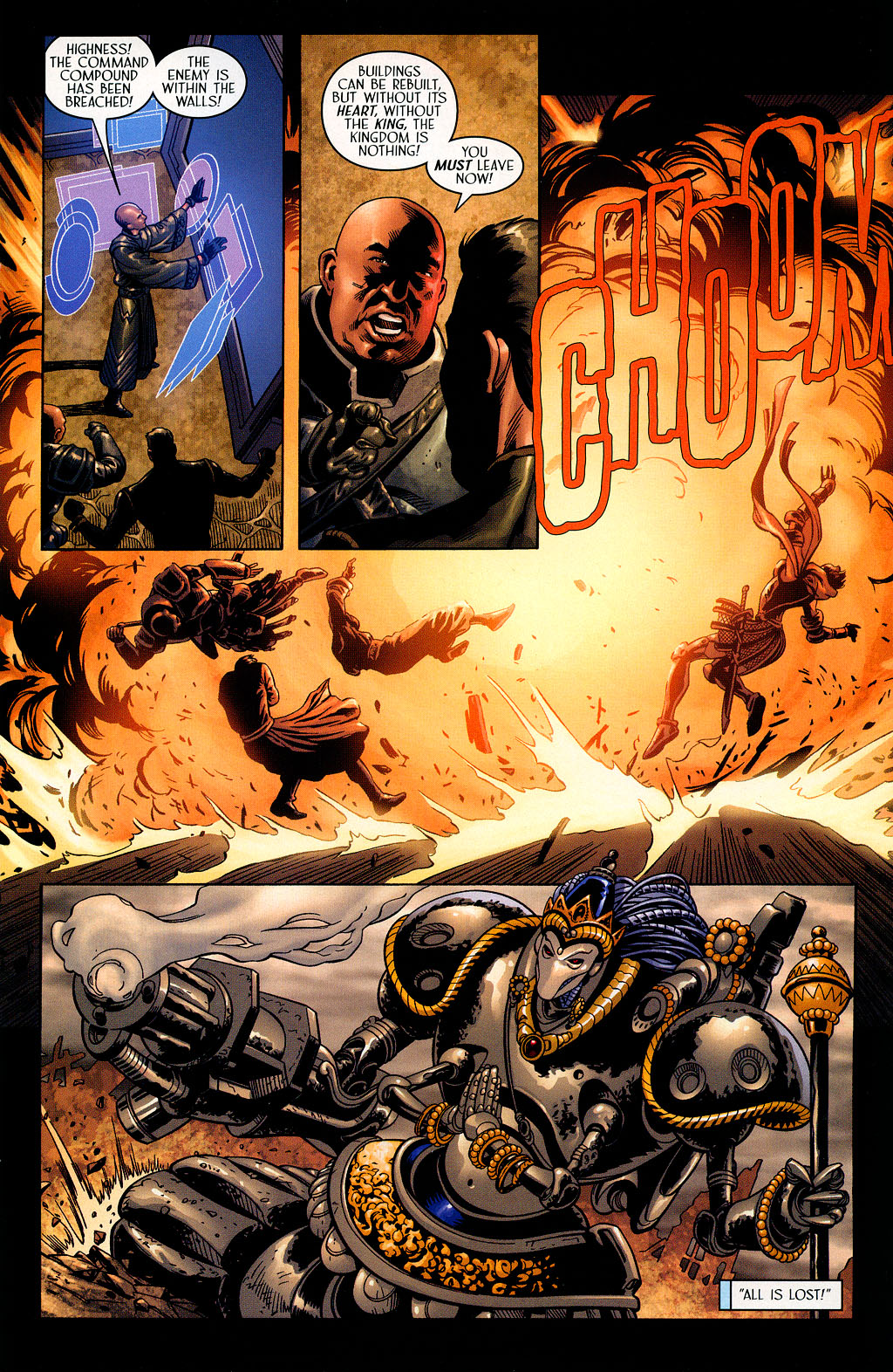 Read online Scion comic -  Issue #41 - 16