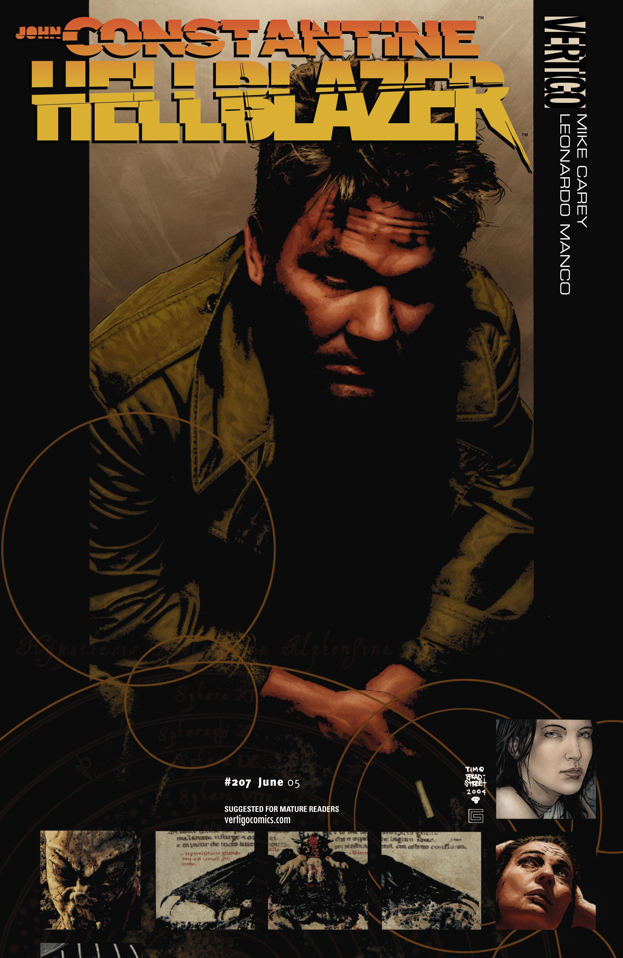 Hellblazer issue 207 - Page 1