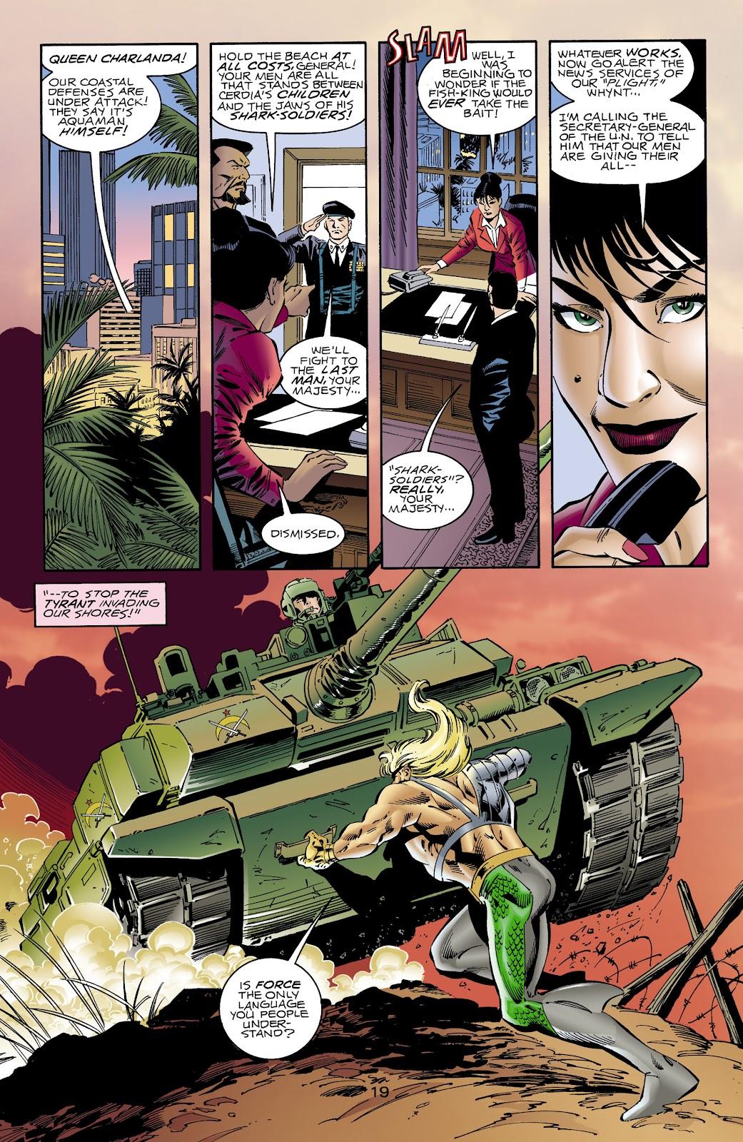 Aquaman (1994) Issue #65 #71 - English 18