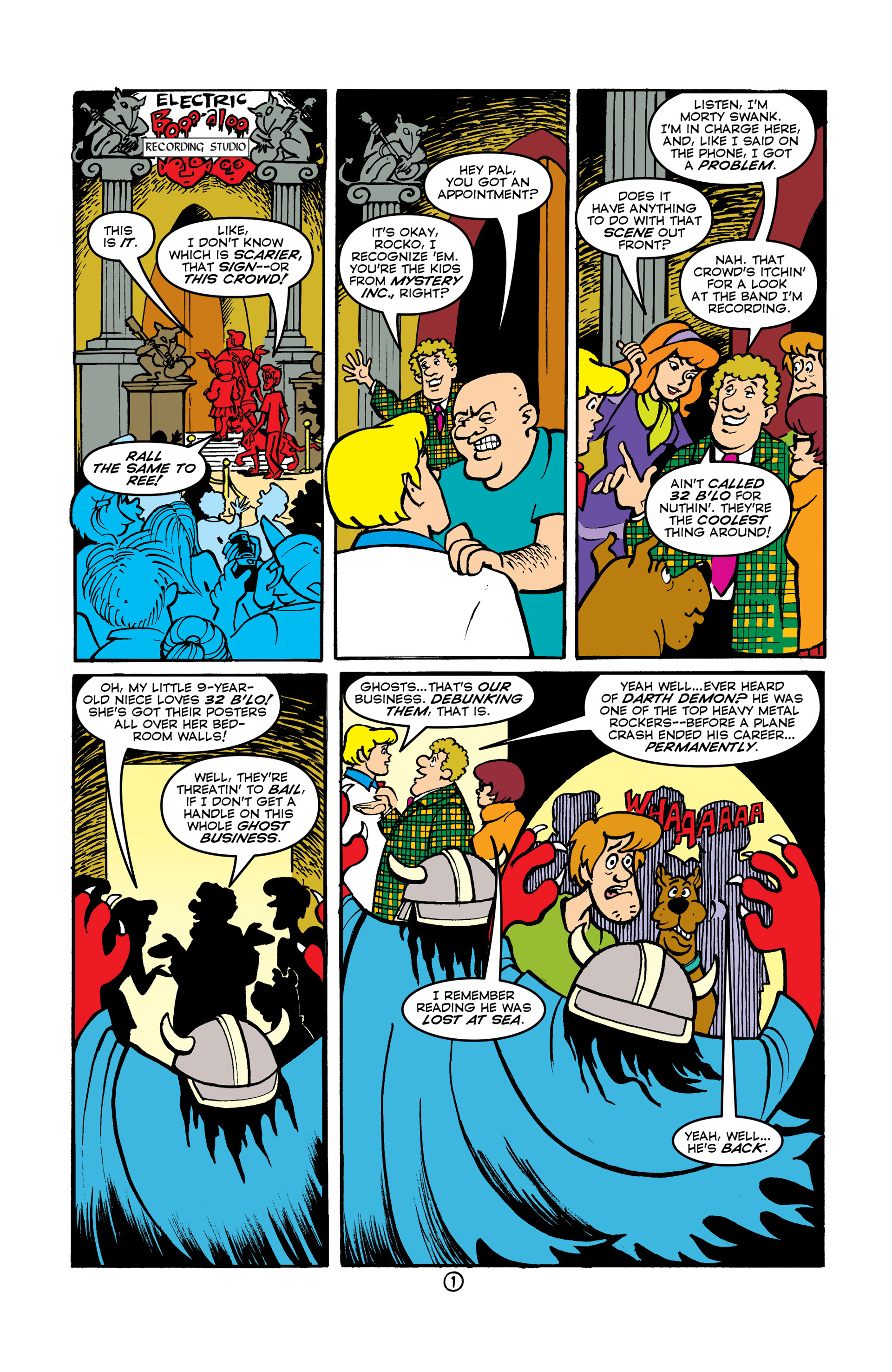 Read online Scooby-Doo (1997) comic -  Issue #47 - 14