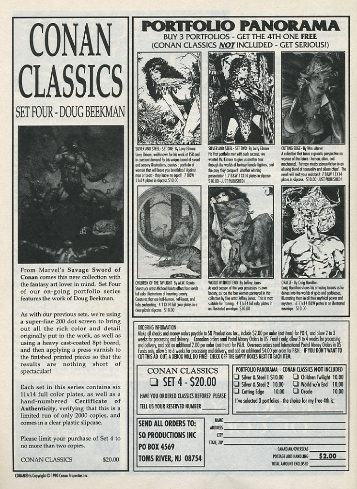 The Savage Sword Of Conan Issue #176 #177 - English 64