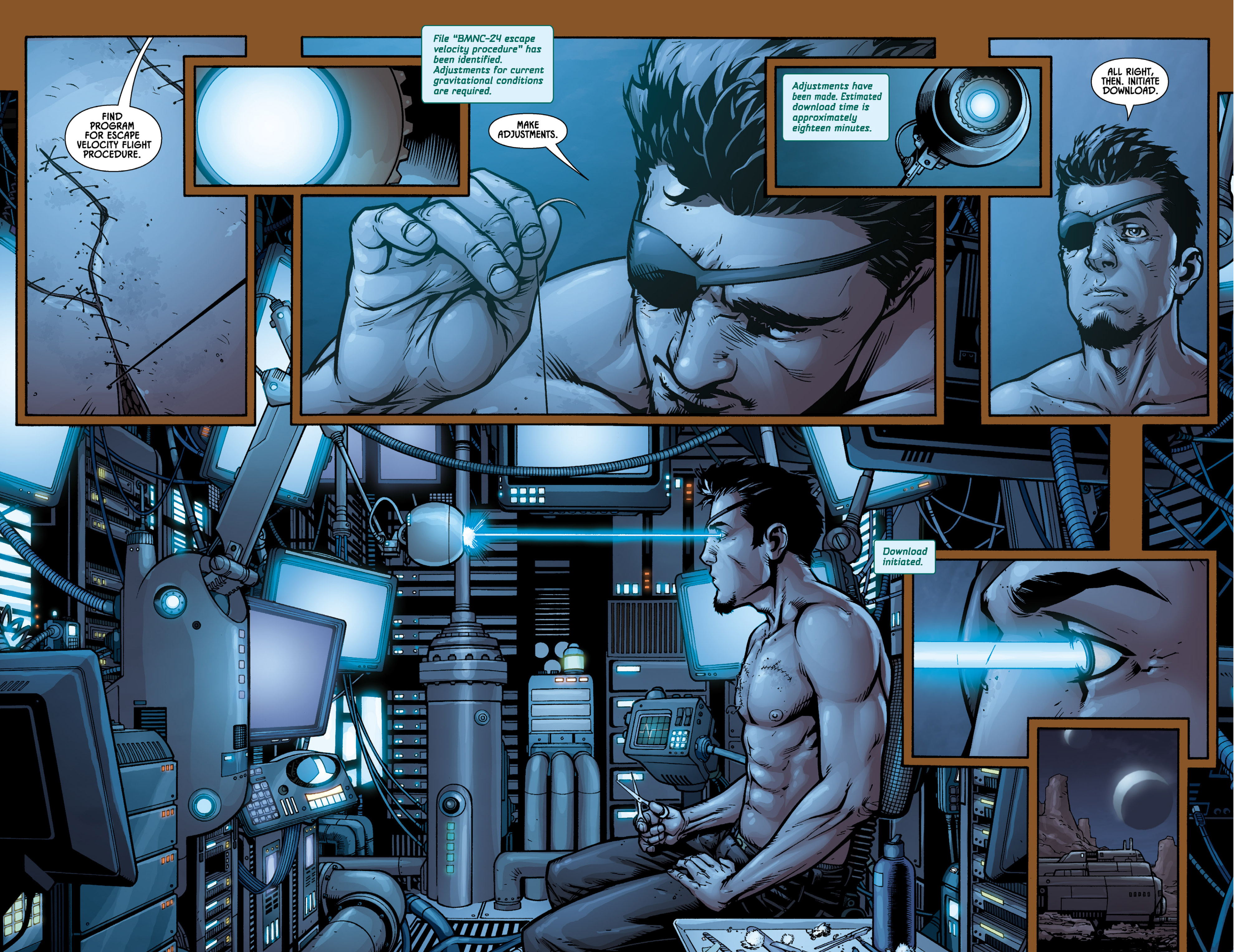 Aliens (2009) TPB Page 35