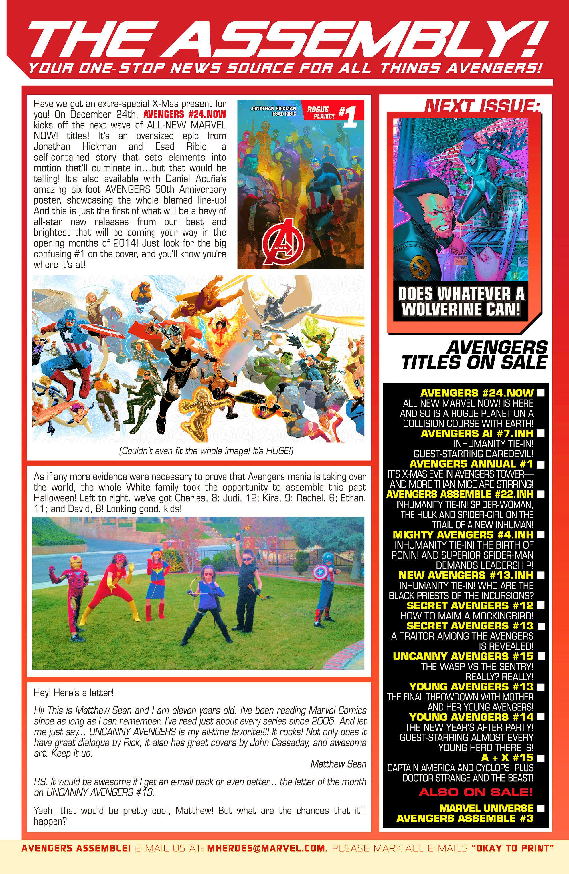 Read online Avengers Assemble (2012) comic -  Issue #22 - 22